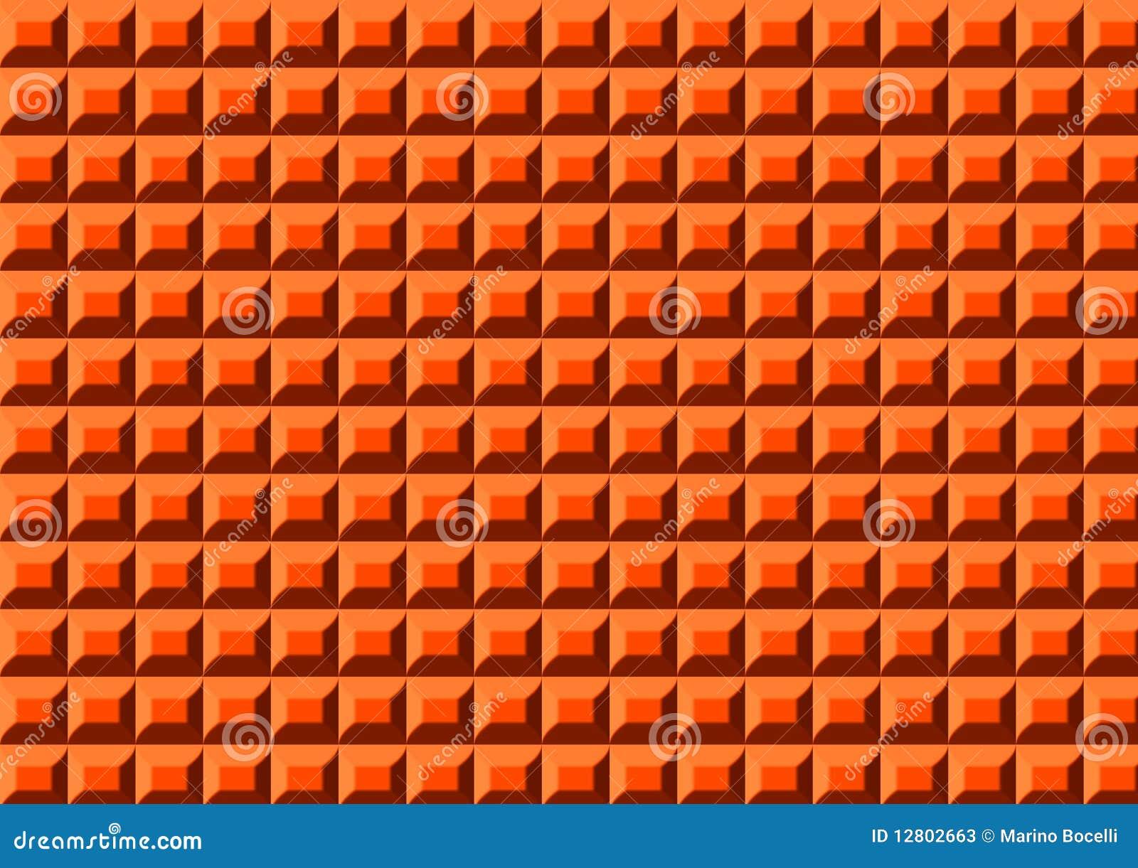 Entzückend Plastikteppich Sammlung Von Pattern Orange Stock Abbildung. Tration Von Angenehm