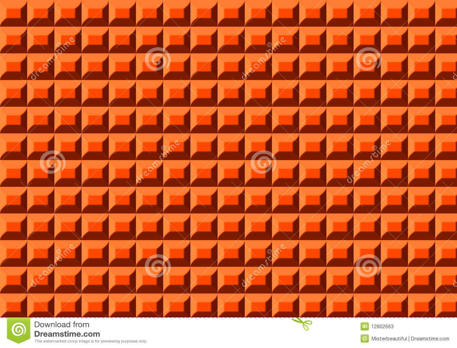 Orange Plastikteppich Stockfotos  Bild 12802663