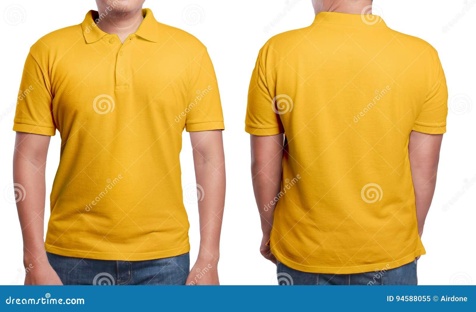 Shirt Design Stock Photo Model