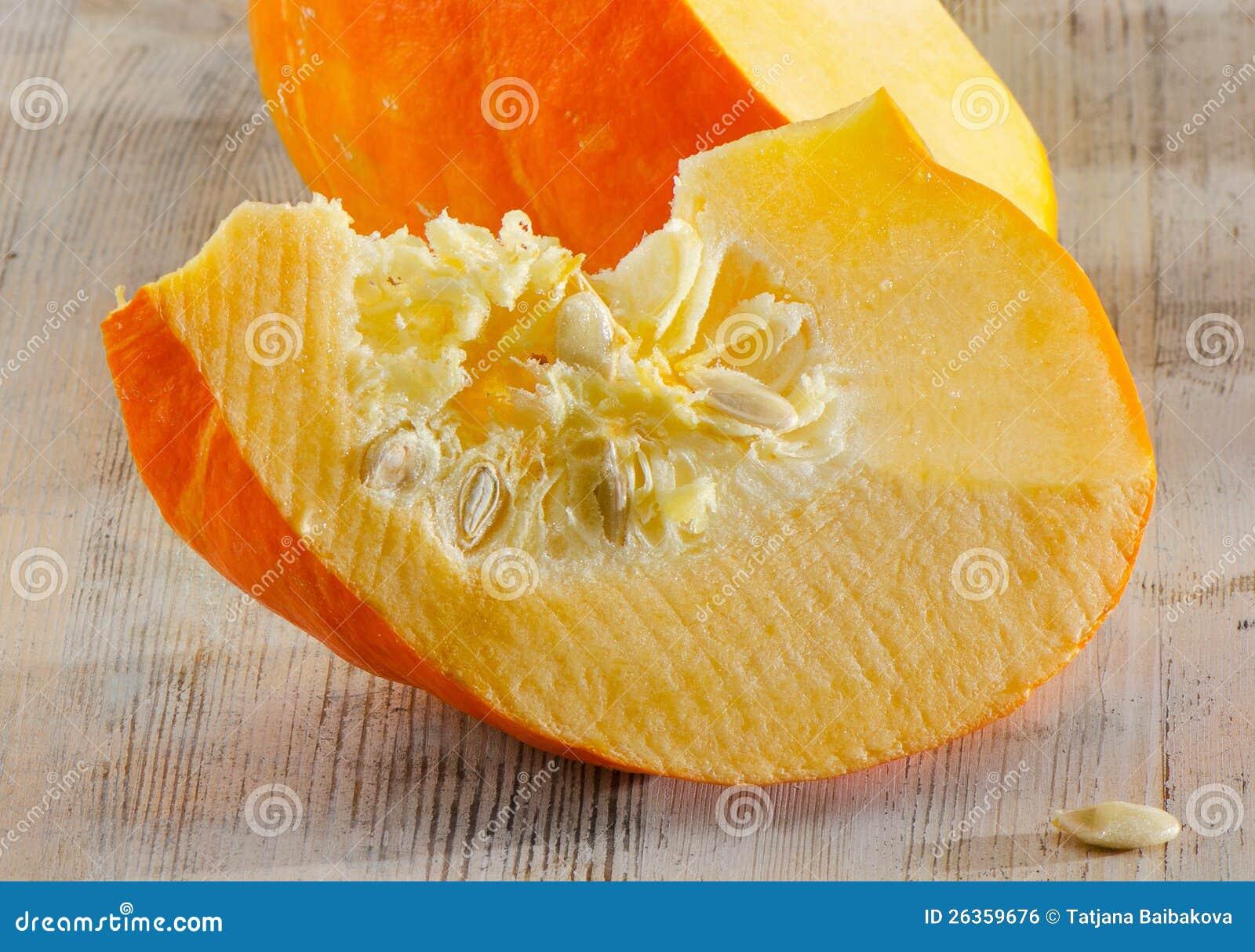 Orange pumpa