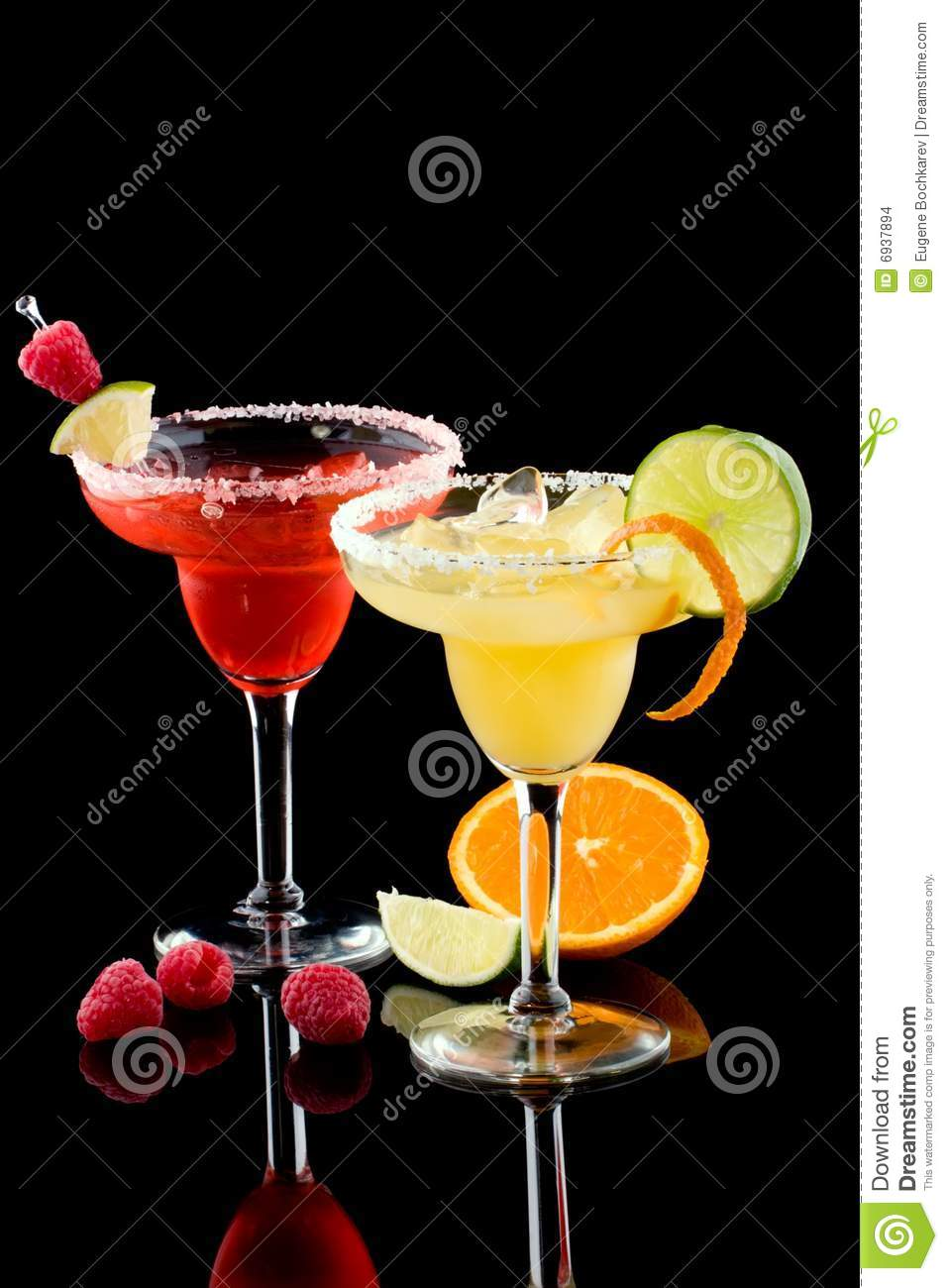 Orange and Raspberry margaritas - Most popular co