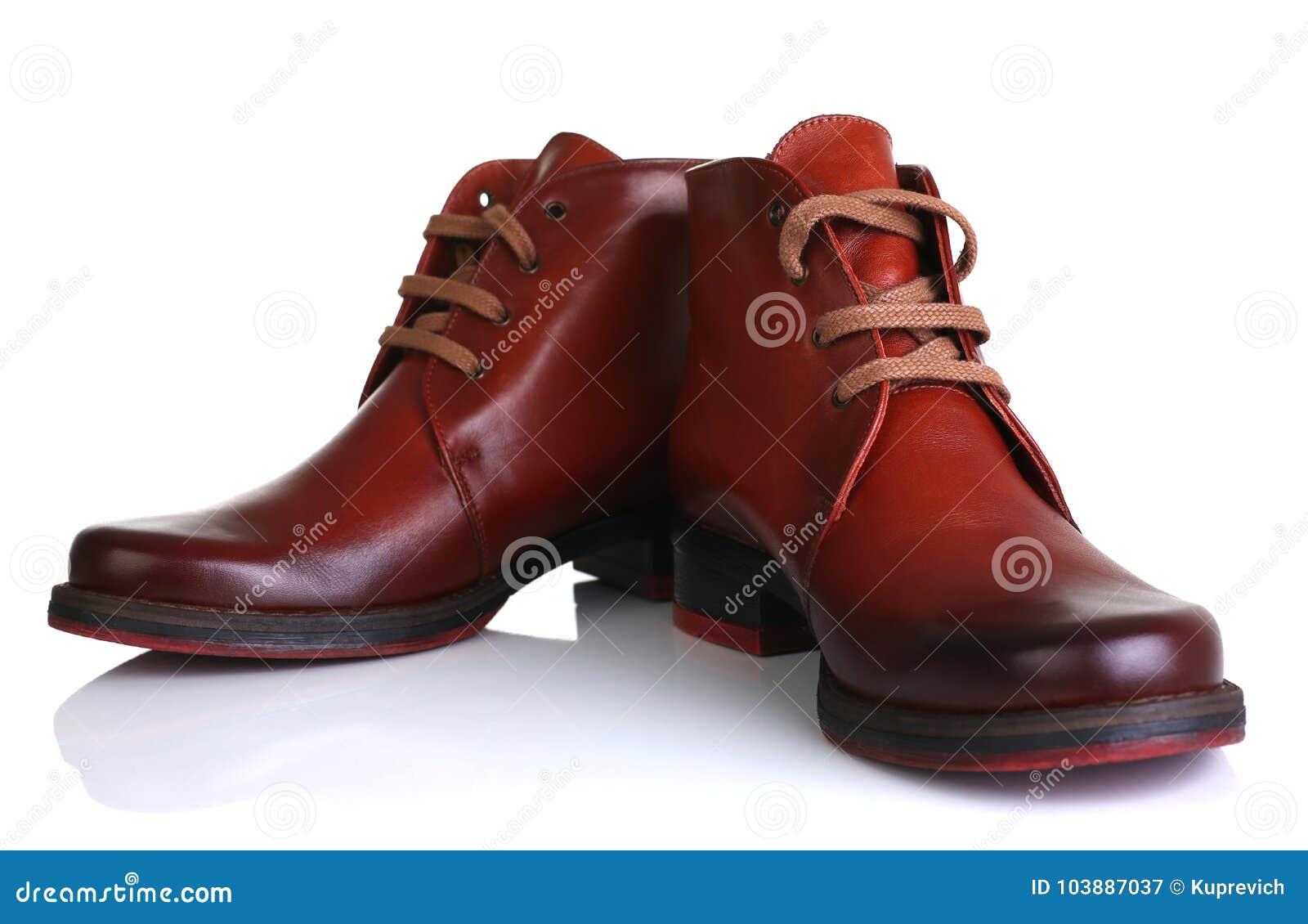 Orange red leather shoes men women unisex beauty fashion style isolated on  white background laces store stylish clothes 4cf70318d0