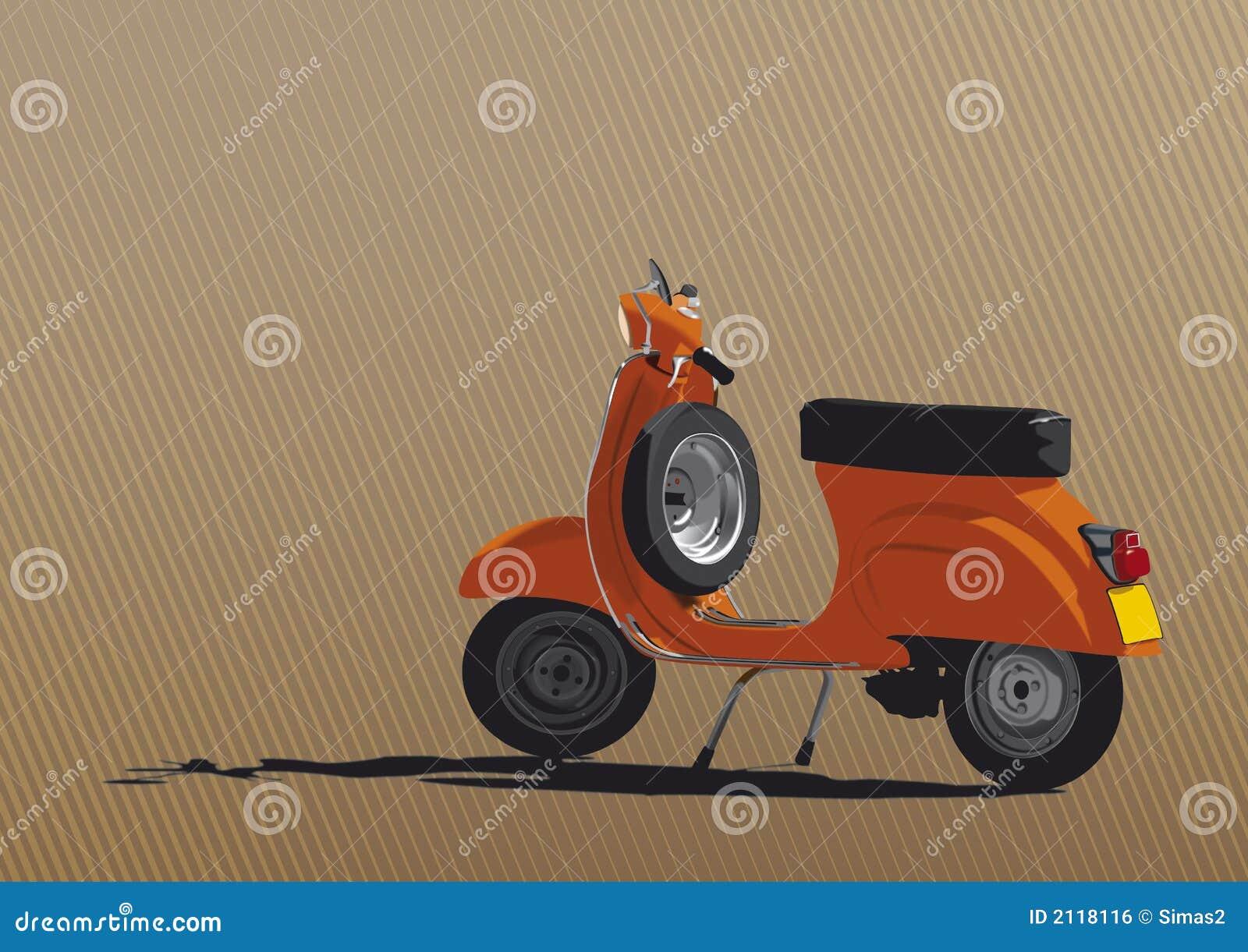 Orange Roller-Abbildung