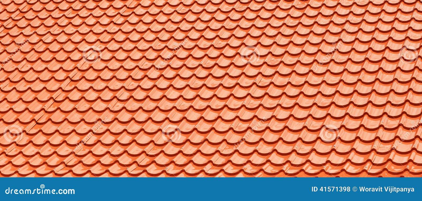 Orange Roof Tiles.