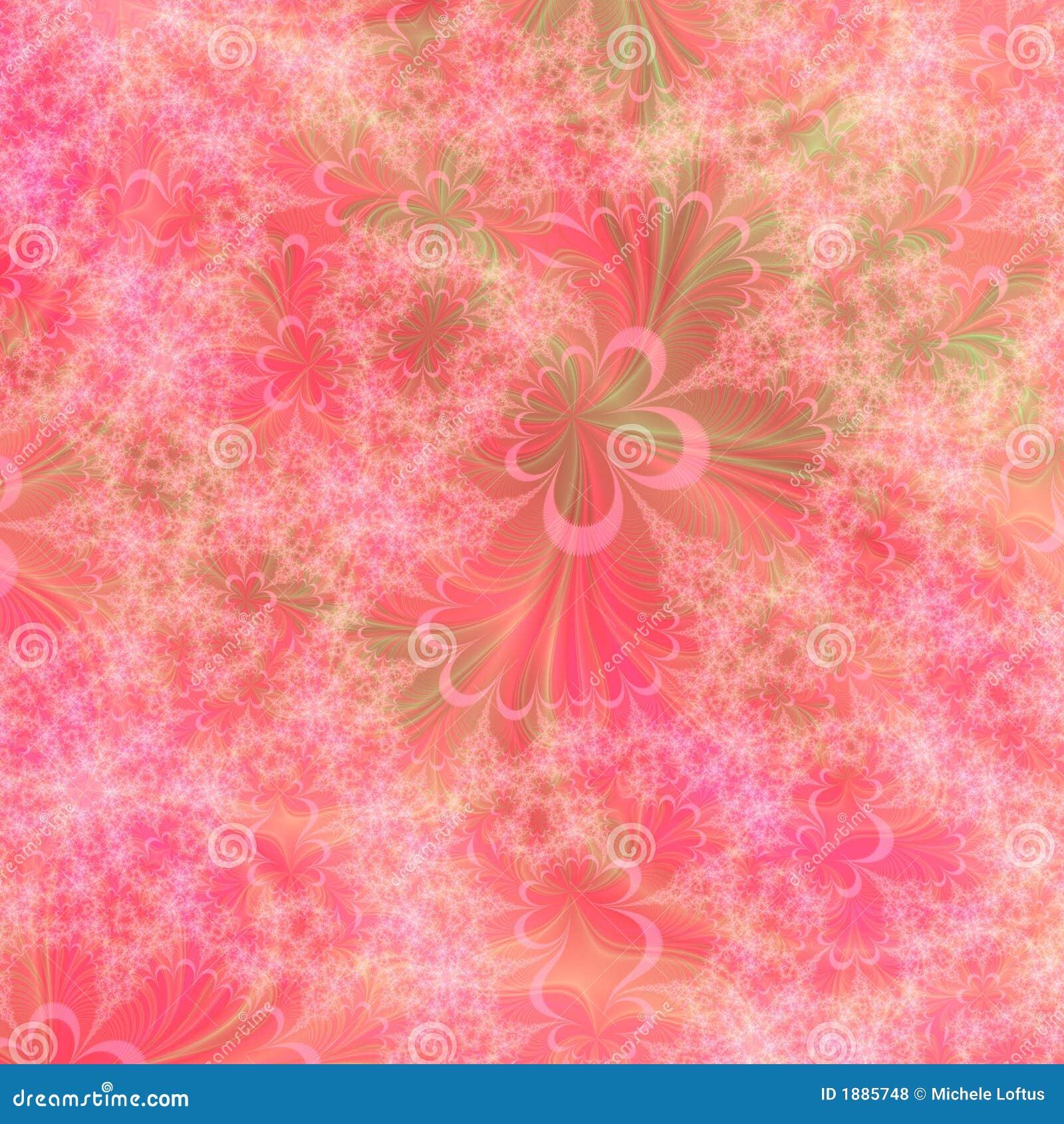 Orange, rosafarbene und grüne abstrakte Hintergrund-Auslegung-Schablone