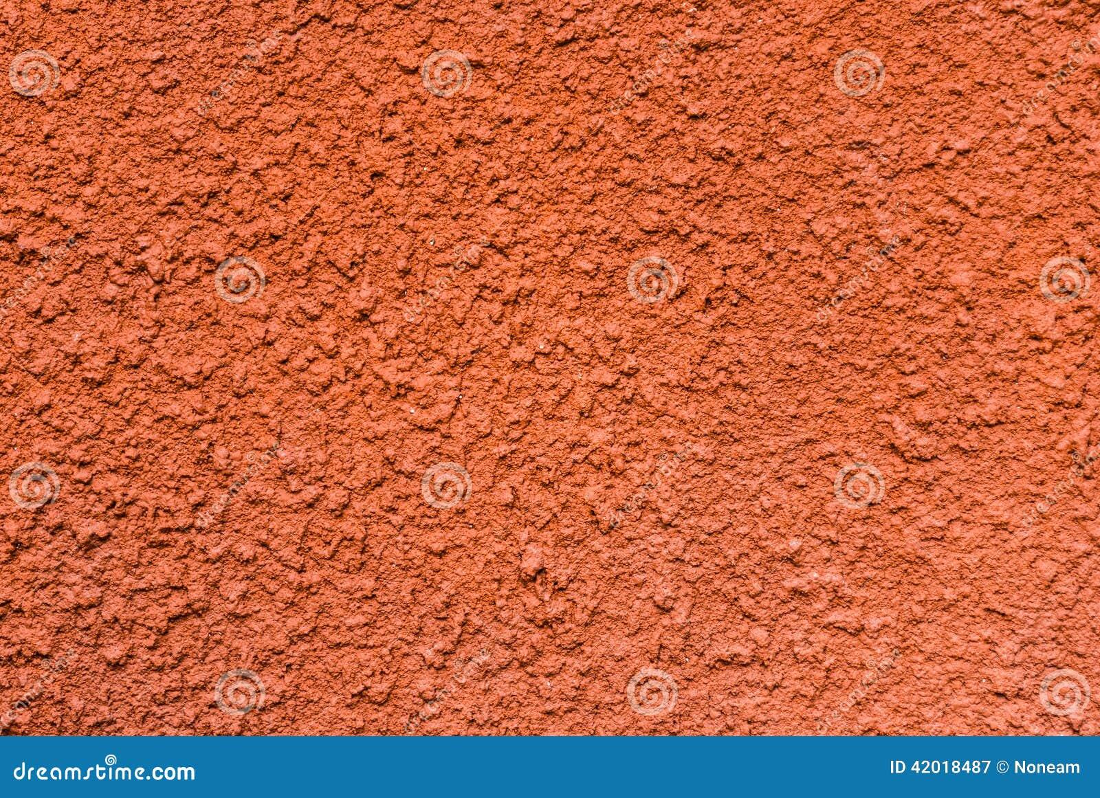 Orange Cement Wall : Orange rough concrete wall background texture stock photo