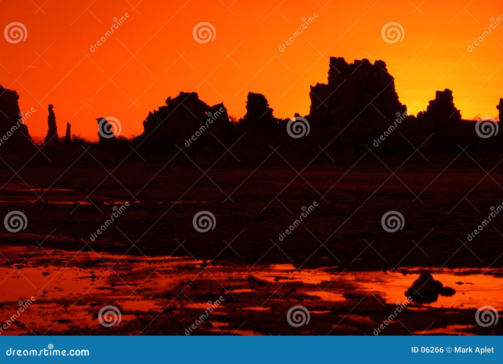 Orange s-tufa