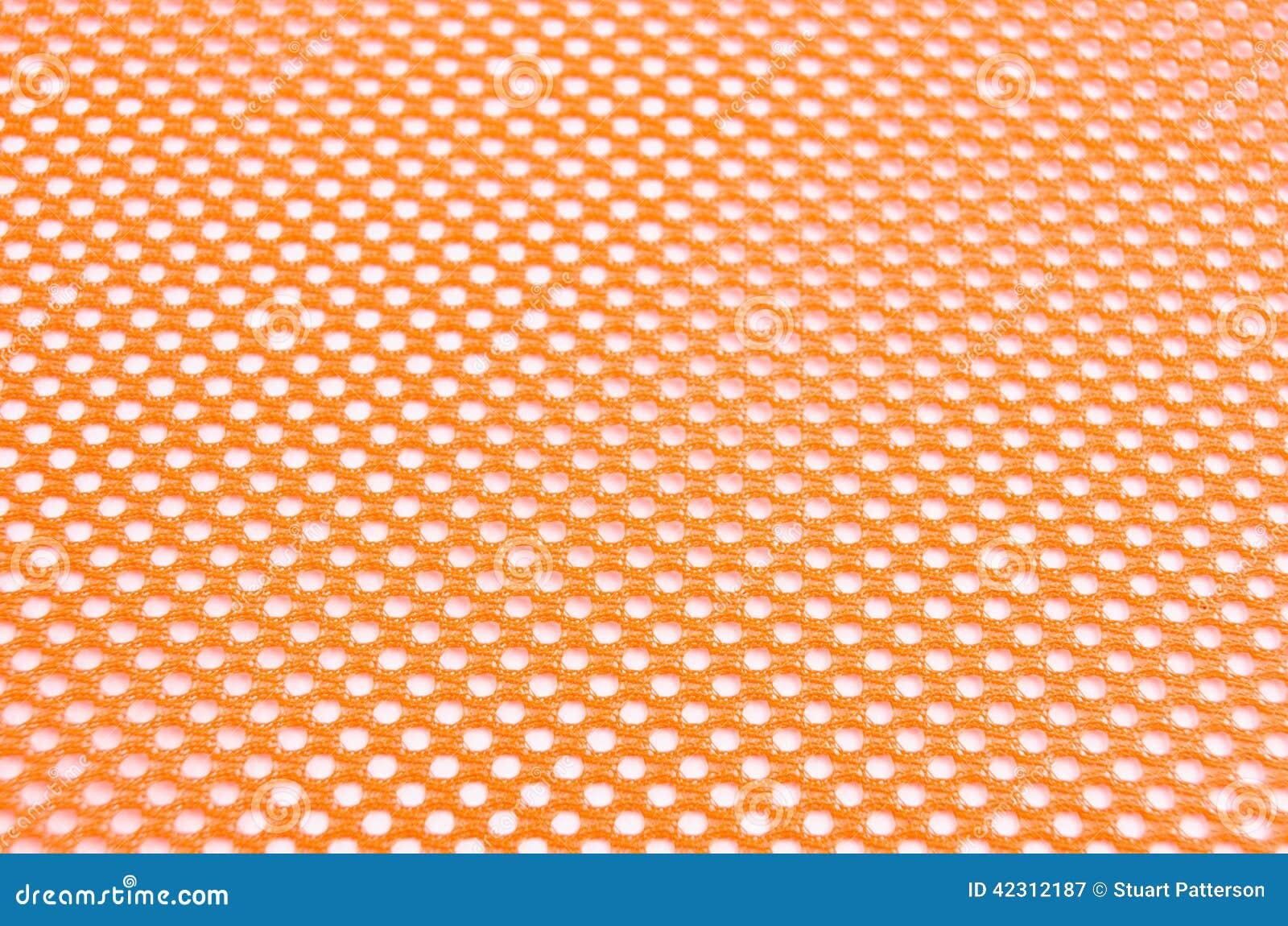 Orange Safety Mesh Stock Photo Image 42312187
