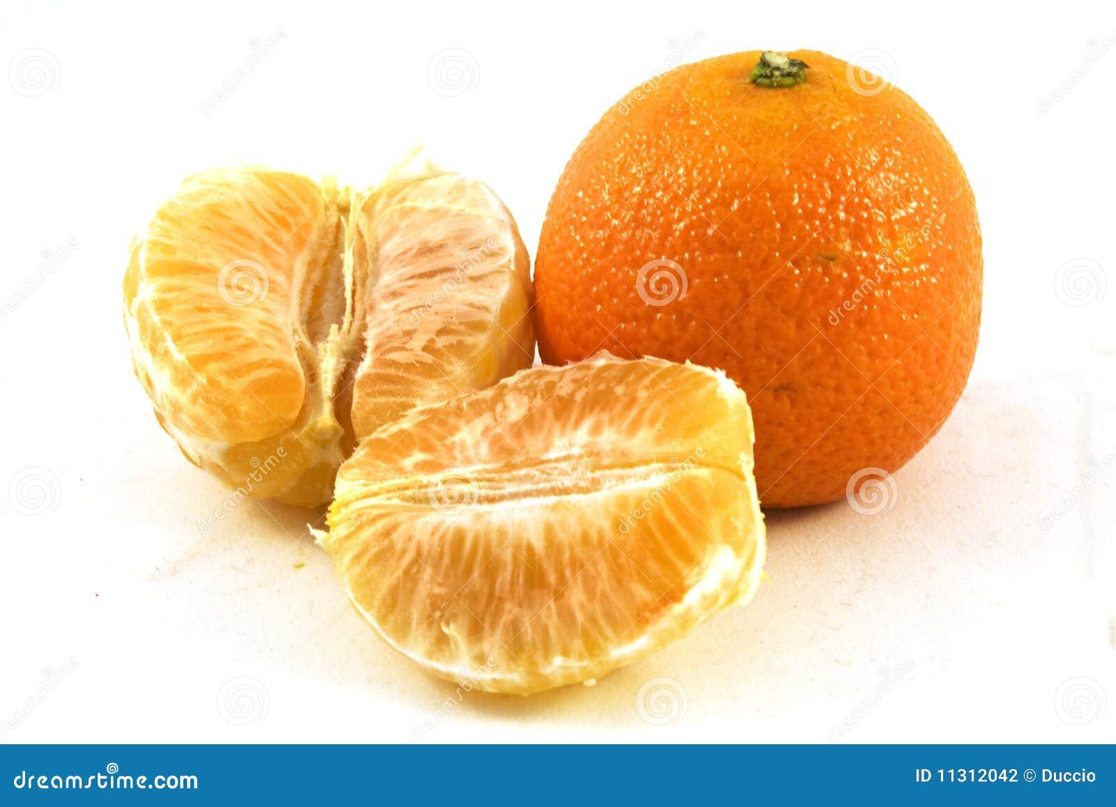 Orange Schale
