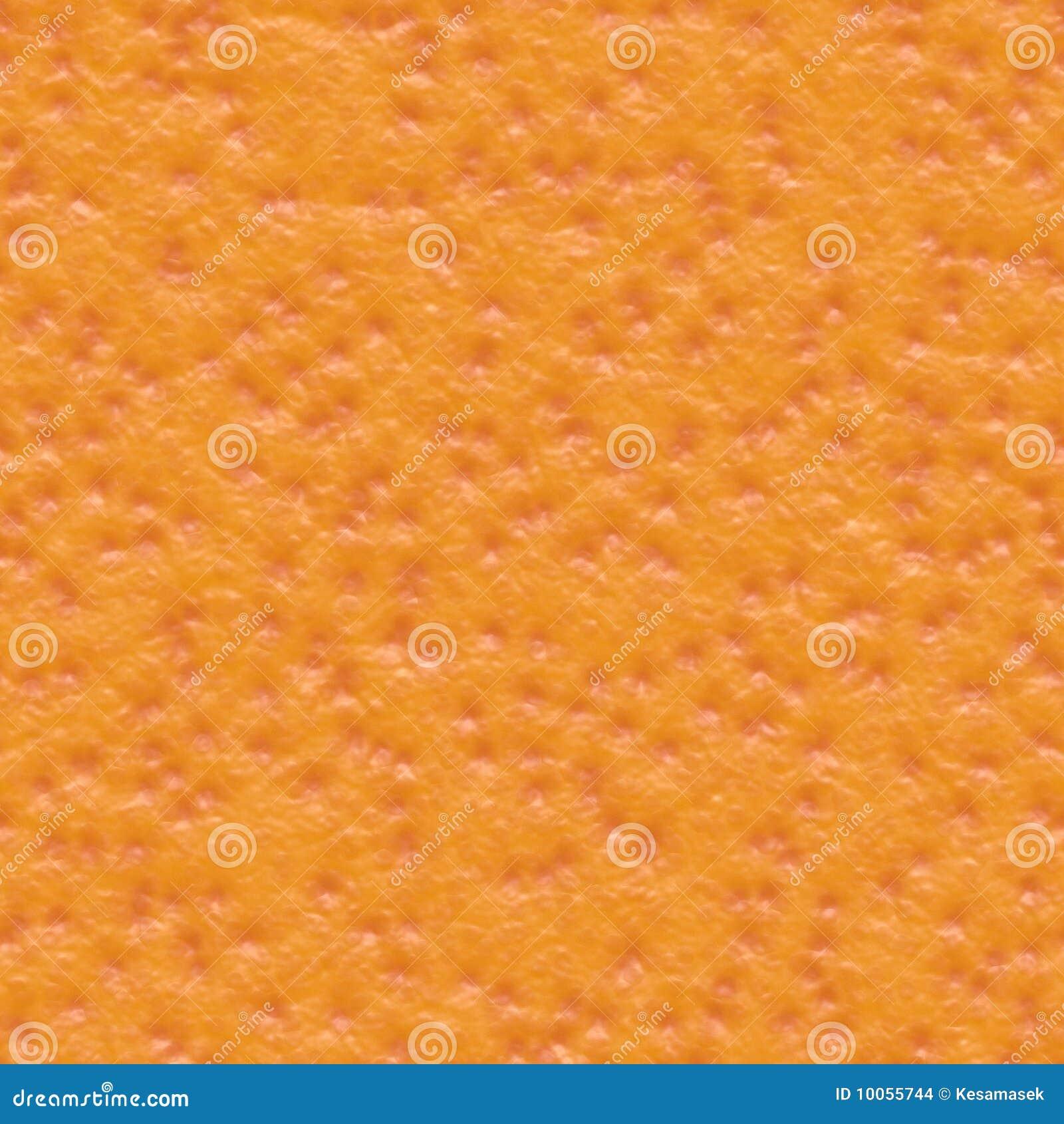 Orange seamless hudtextur