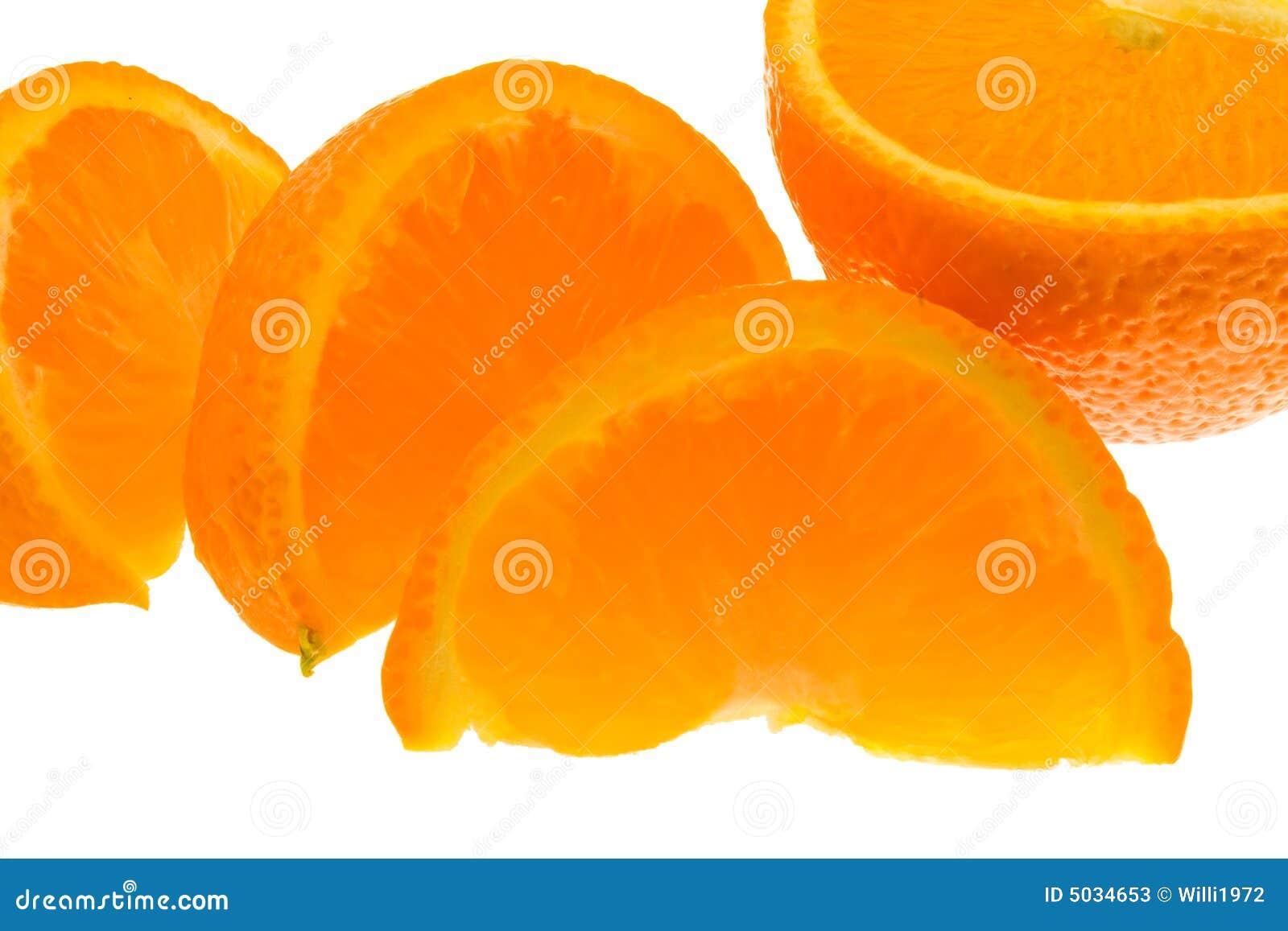 Orange Segmente