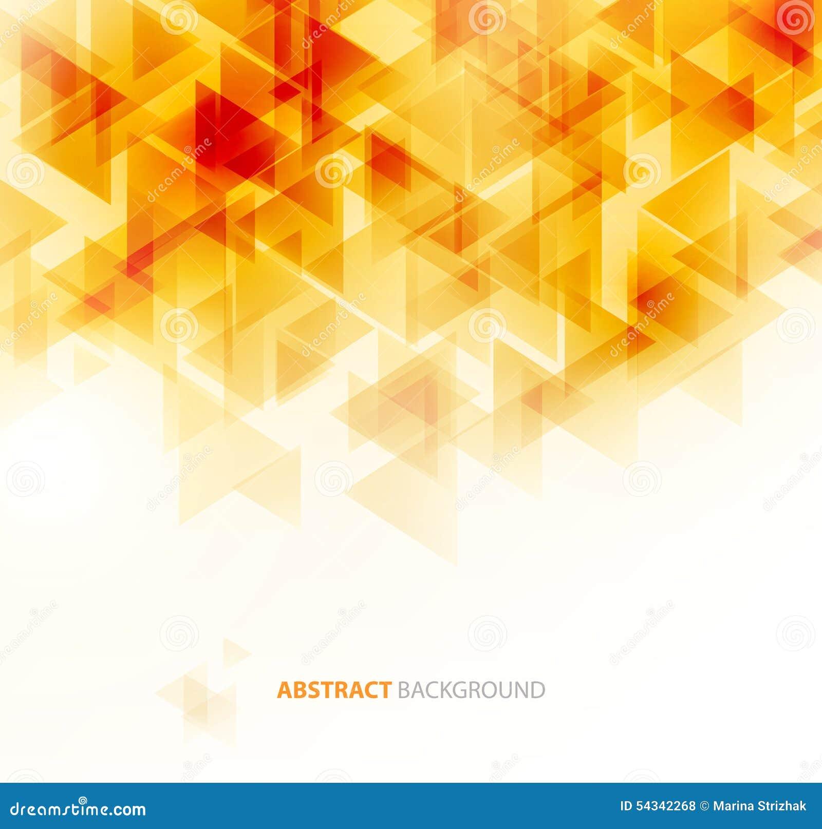 Orange Shiny Technical Background  Vector Stock Vector