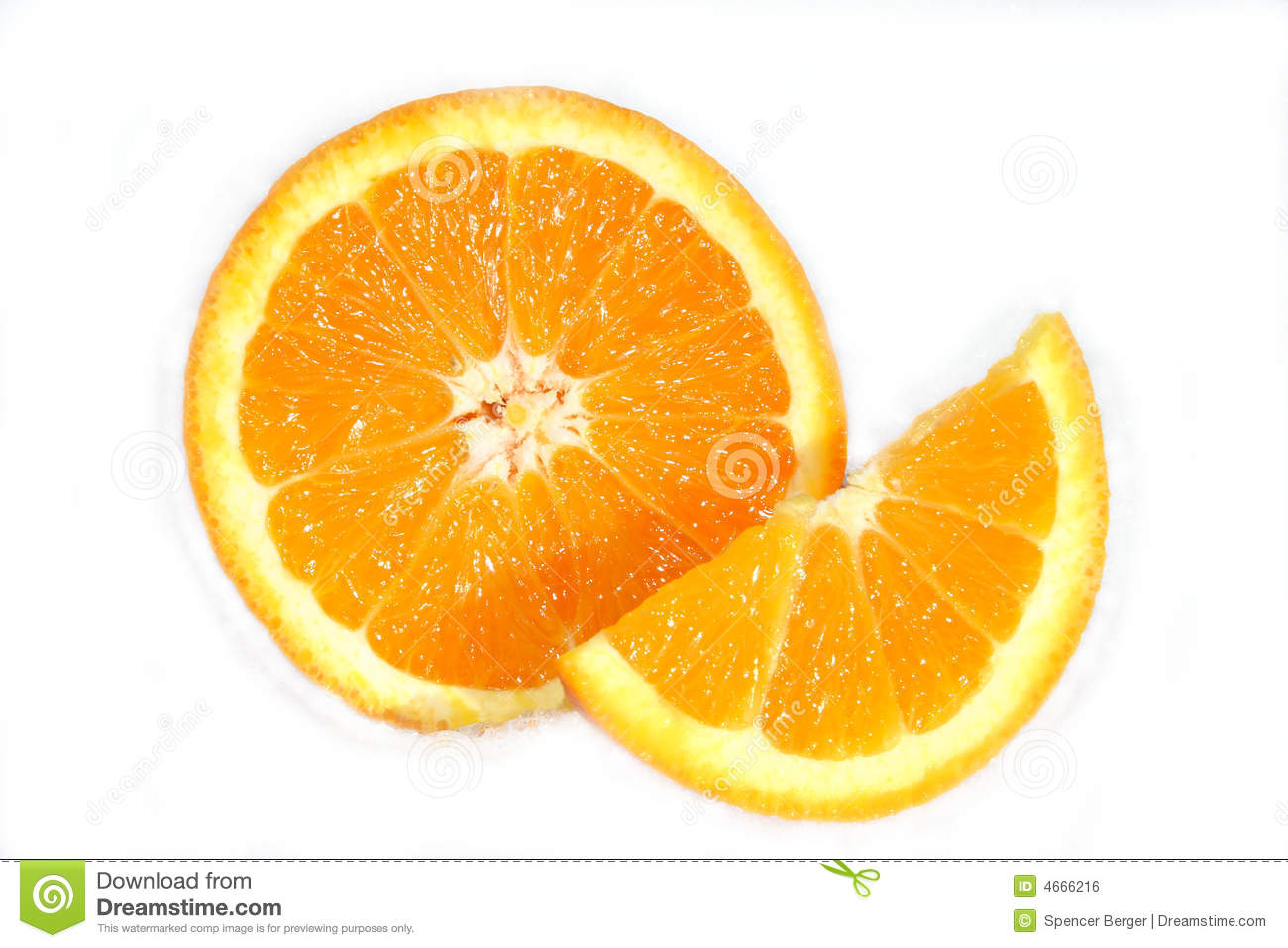 how to draw an orange slice