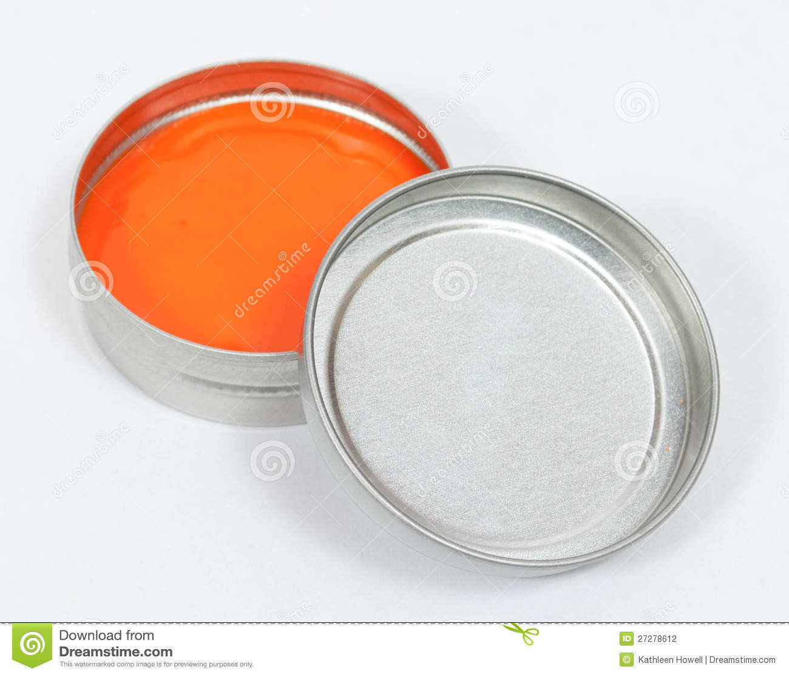 Orange spackel