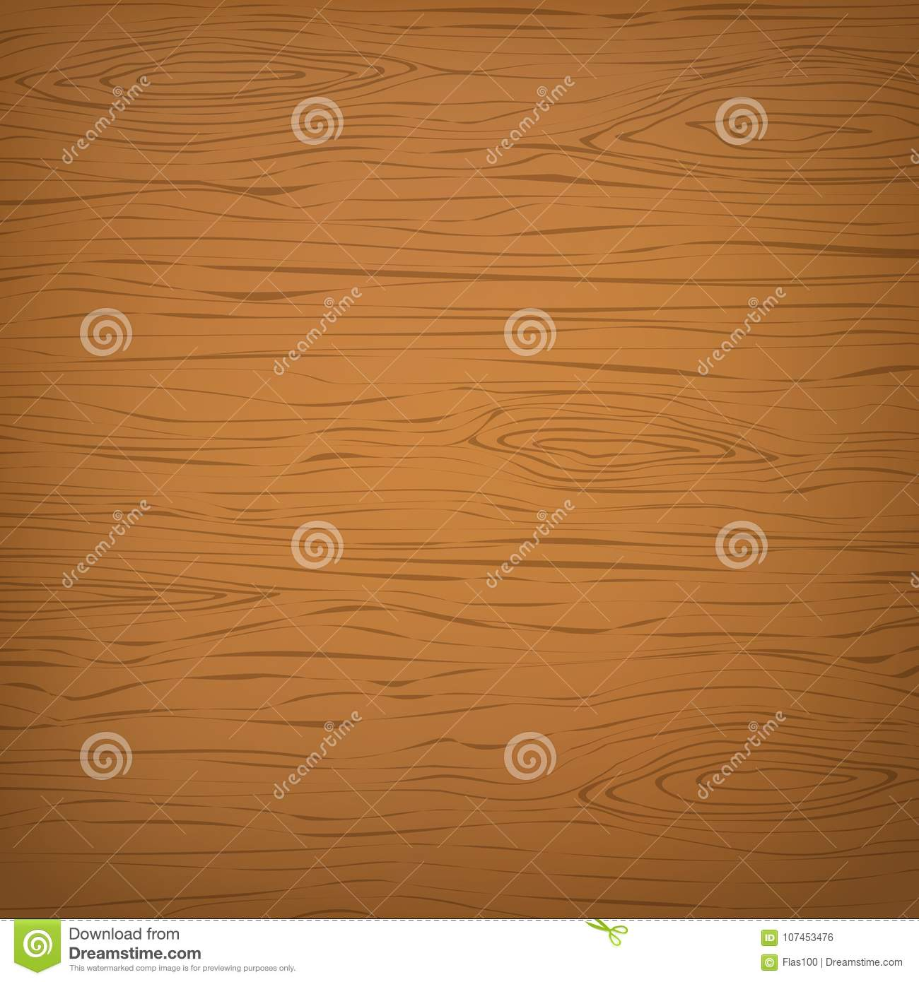 Orange square wooden cutting, chopping board, table or floor surface. Wood texture
