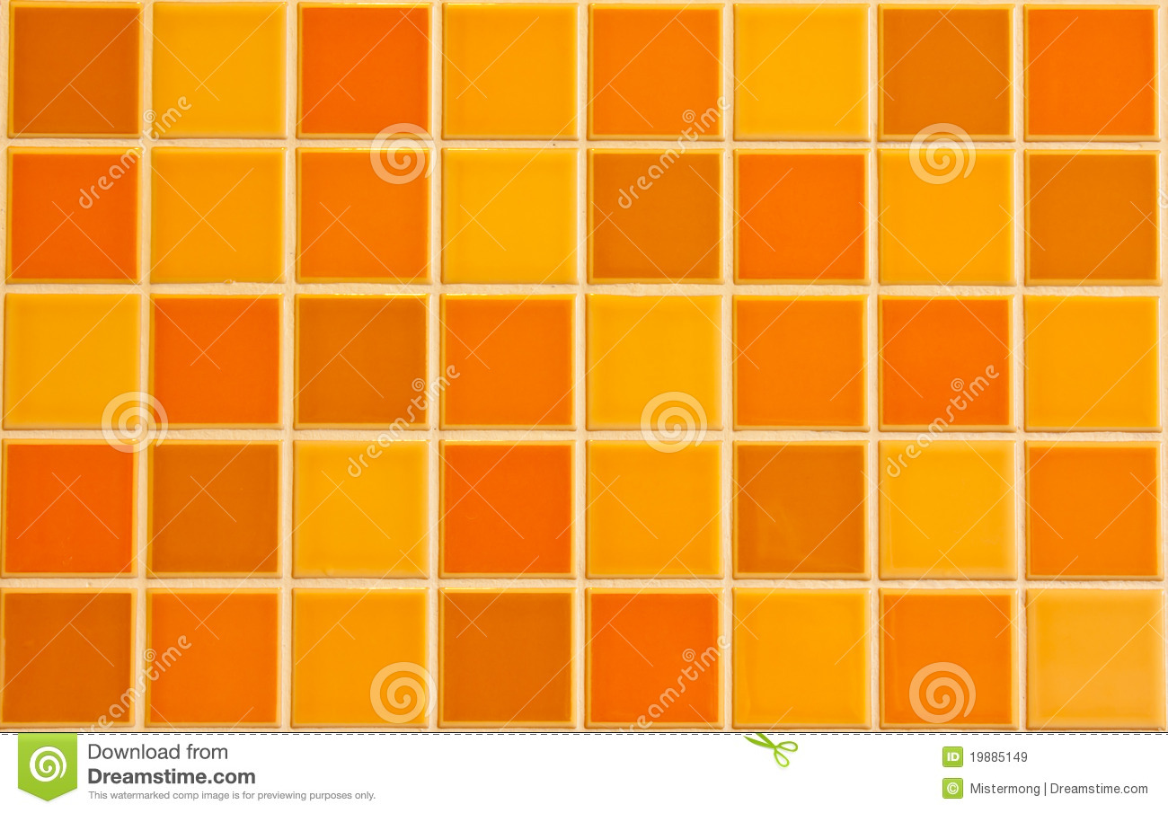 Orange tile texture royalty free stock images image - Different shades of orange ...