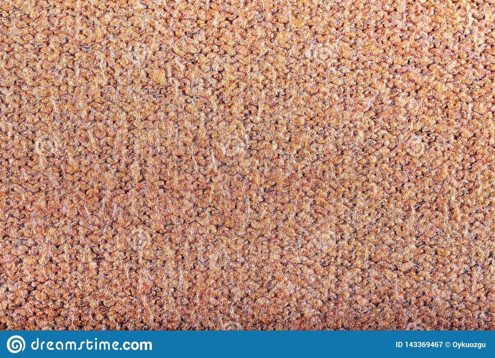 Orange ull sticker textur, bakgrund
