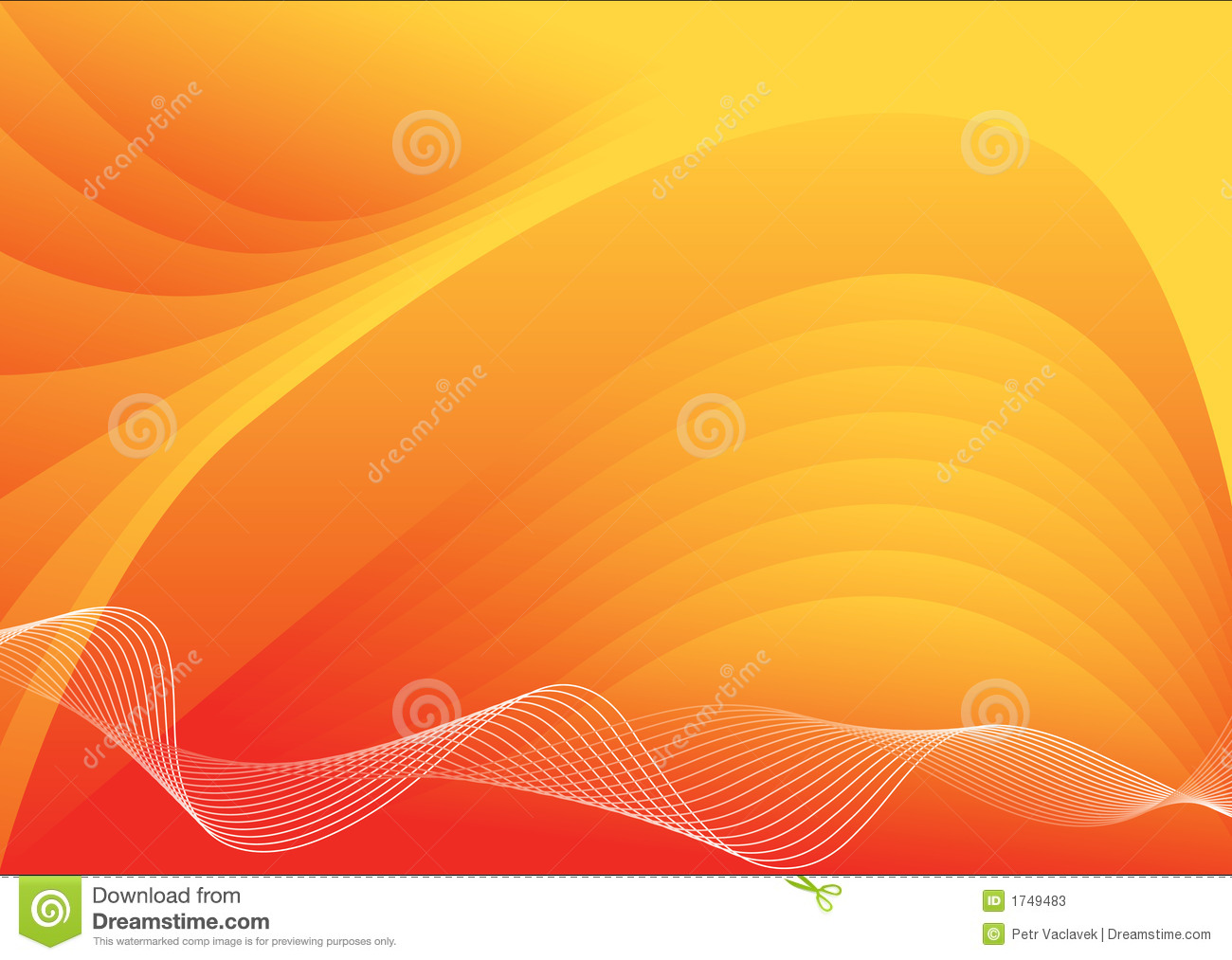 Orange Vector Background Orange vector backgrou...