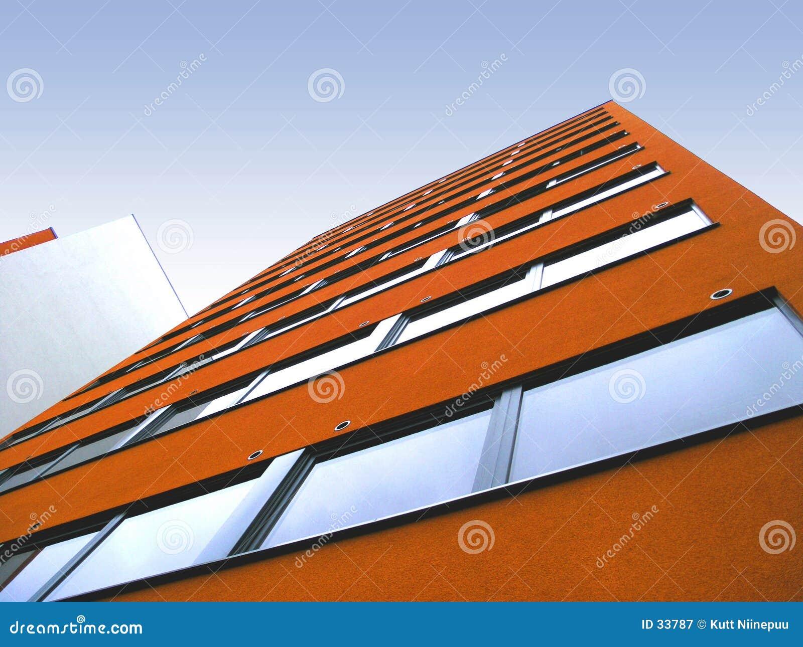 Orange wall 2
