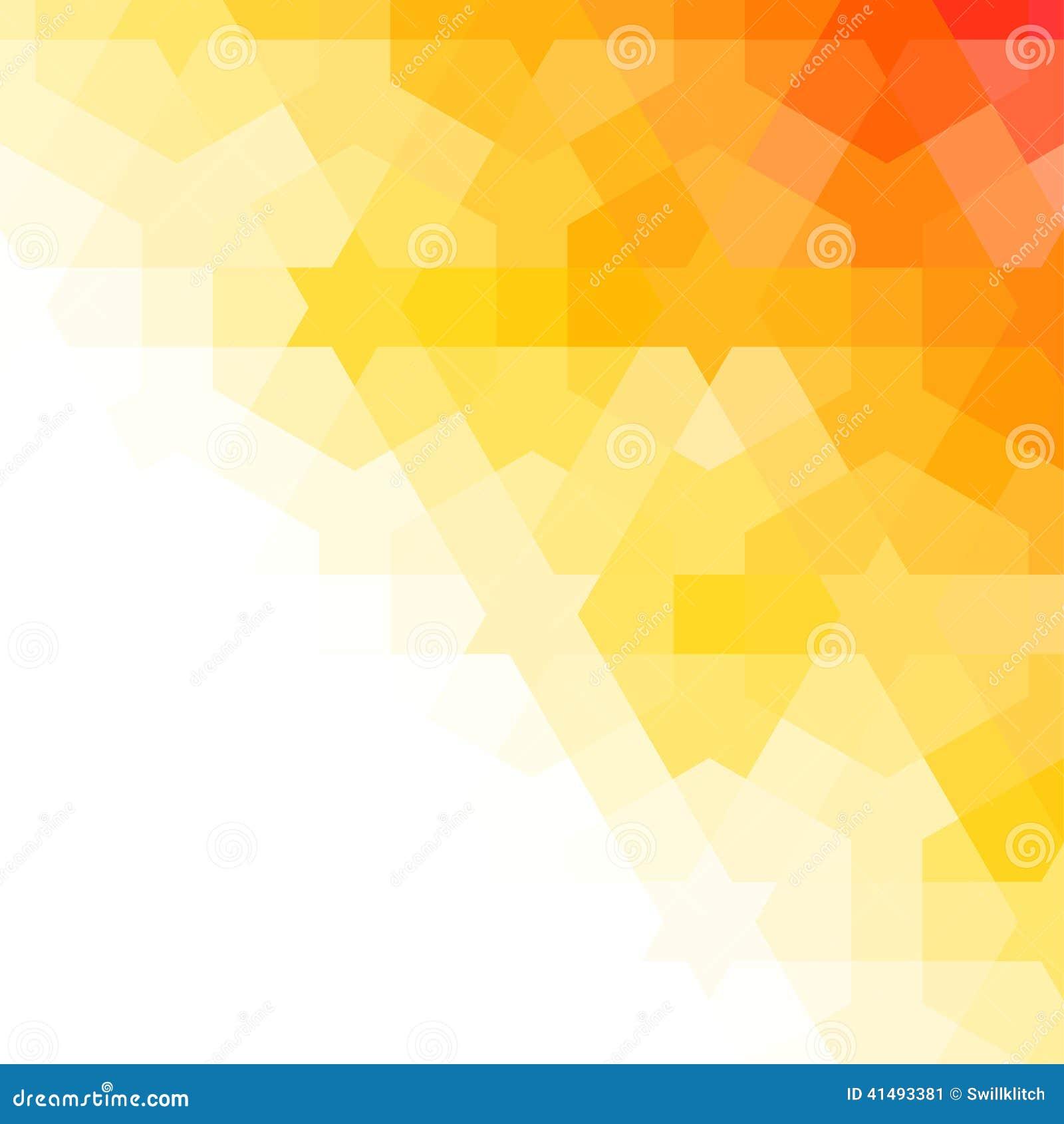Orange And White Arabic Background Stock Vector