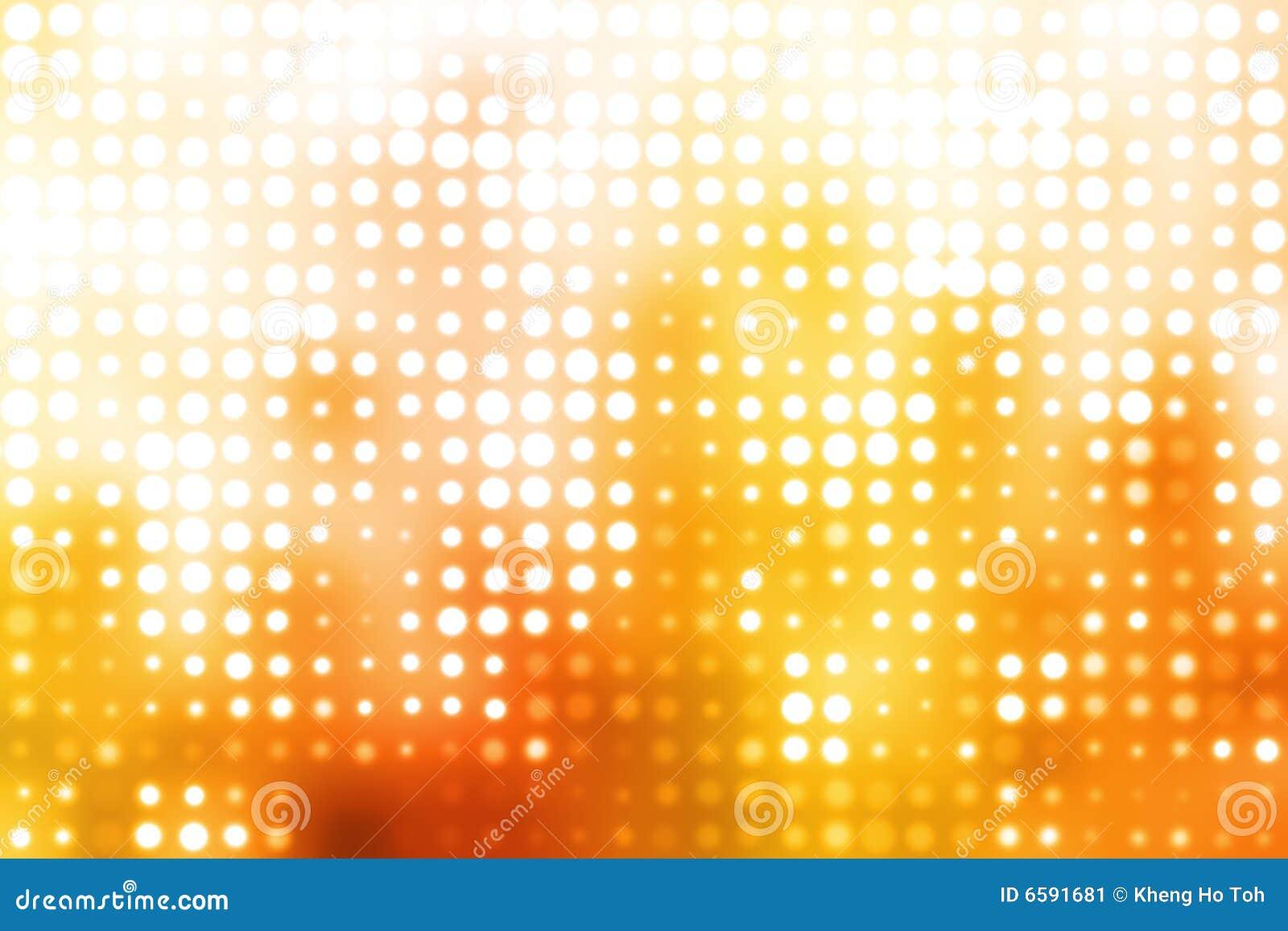 Orange And White Glowing Futuristic Background Stock Image