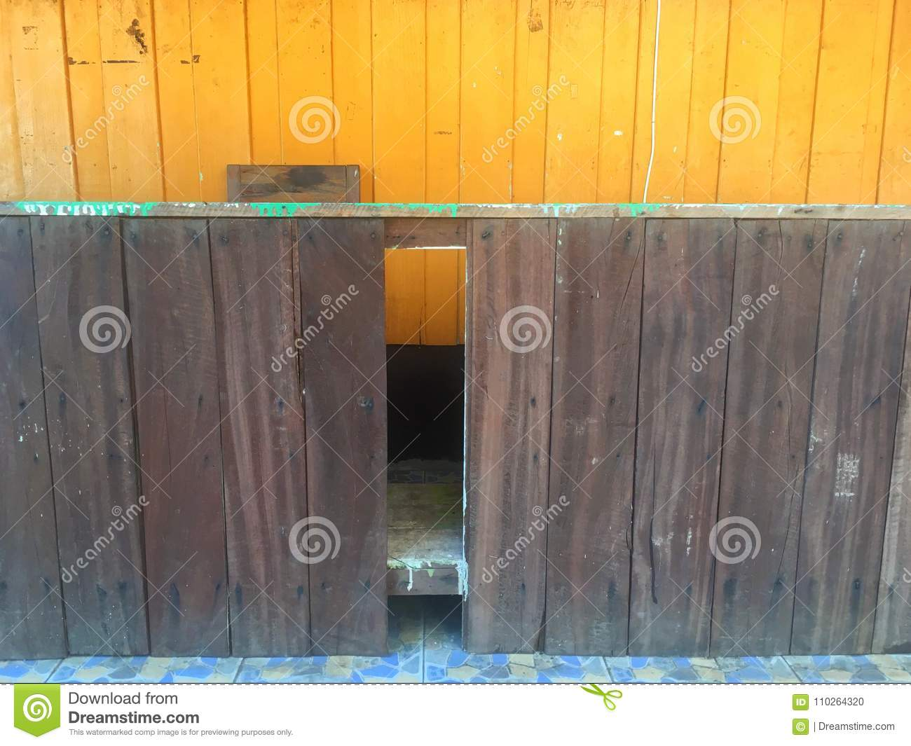 Orange Wood Old Wooden Counters And Stock Photo Image Of Fence