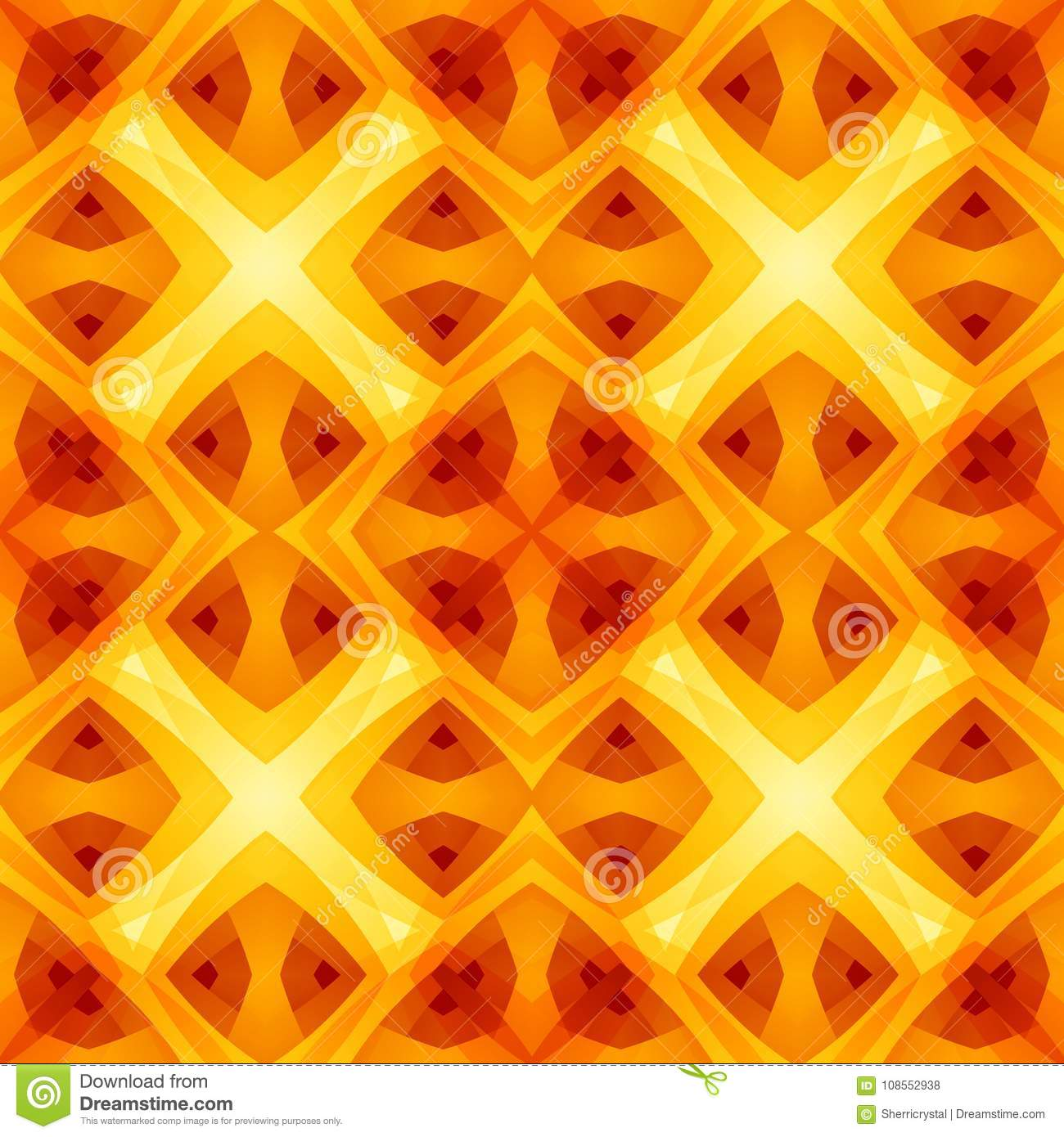 Home Decor Fabric Design Sample. Bright Seamless Tile. Optimistic And  Energetic Background Ill. Royalty Free Illustration