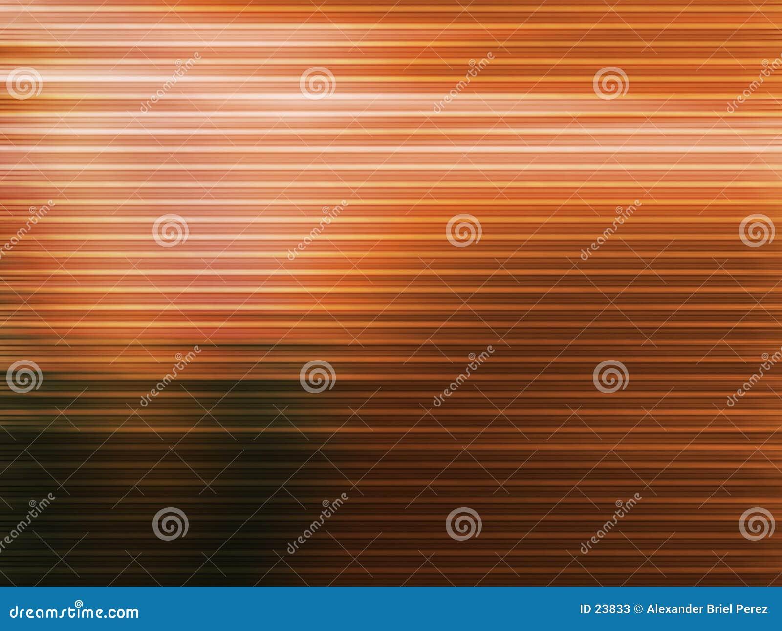 Orange Zeilen