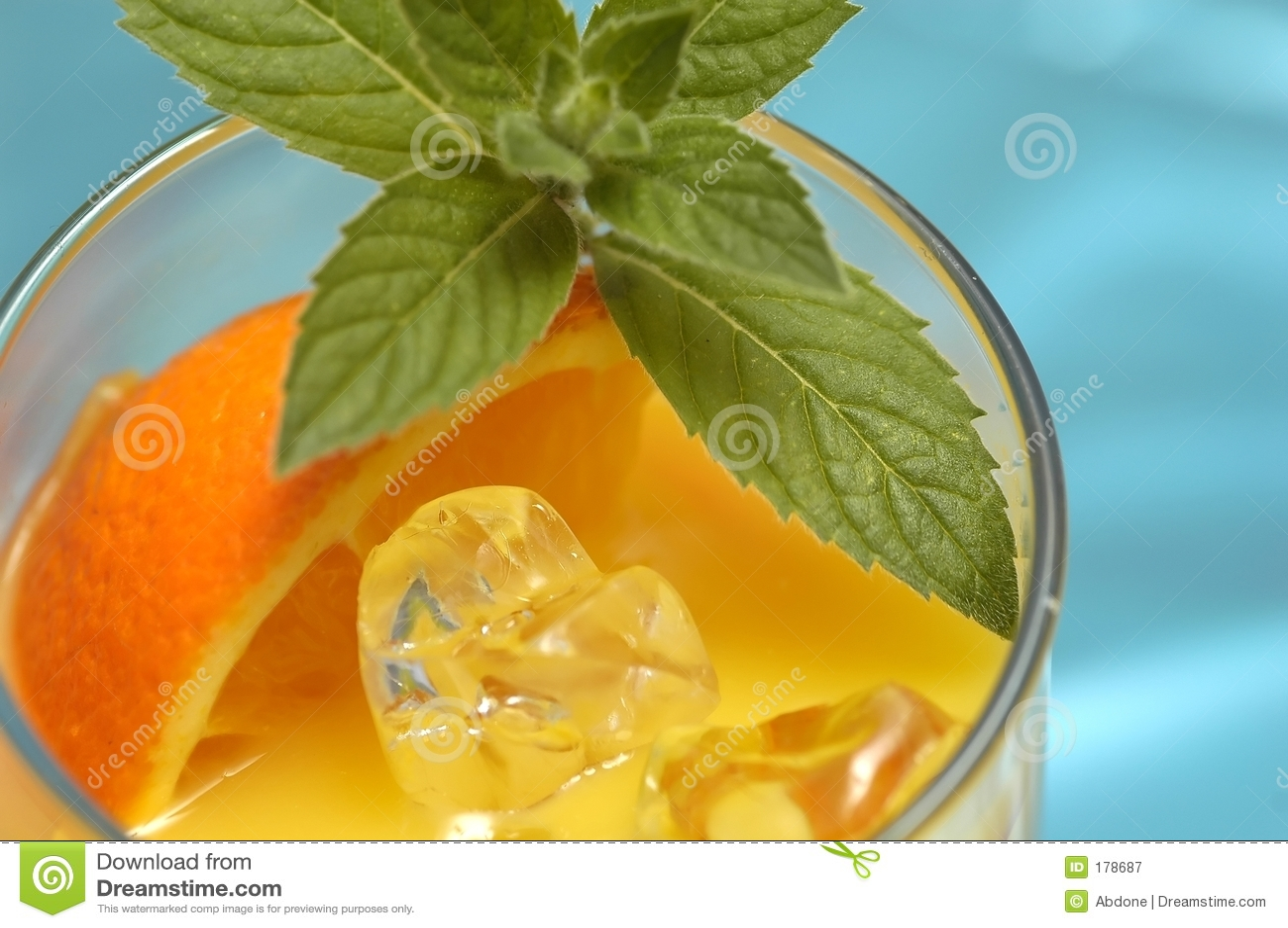 Orangensaftgetränk