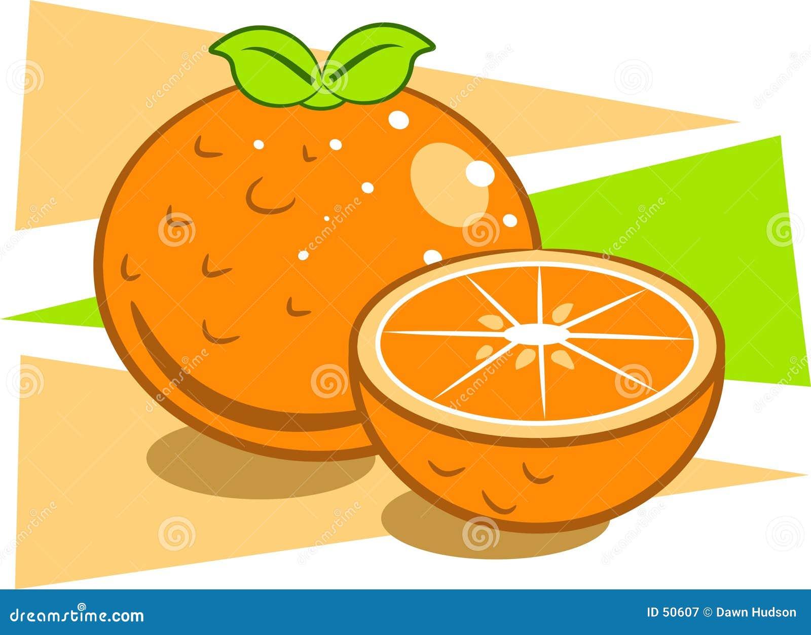 Download Oranges illustration de vecteur. Illustration du citron - 50607