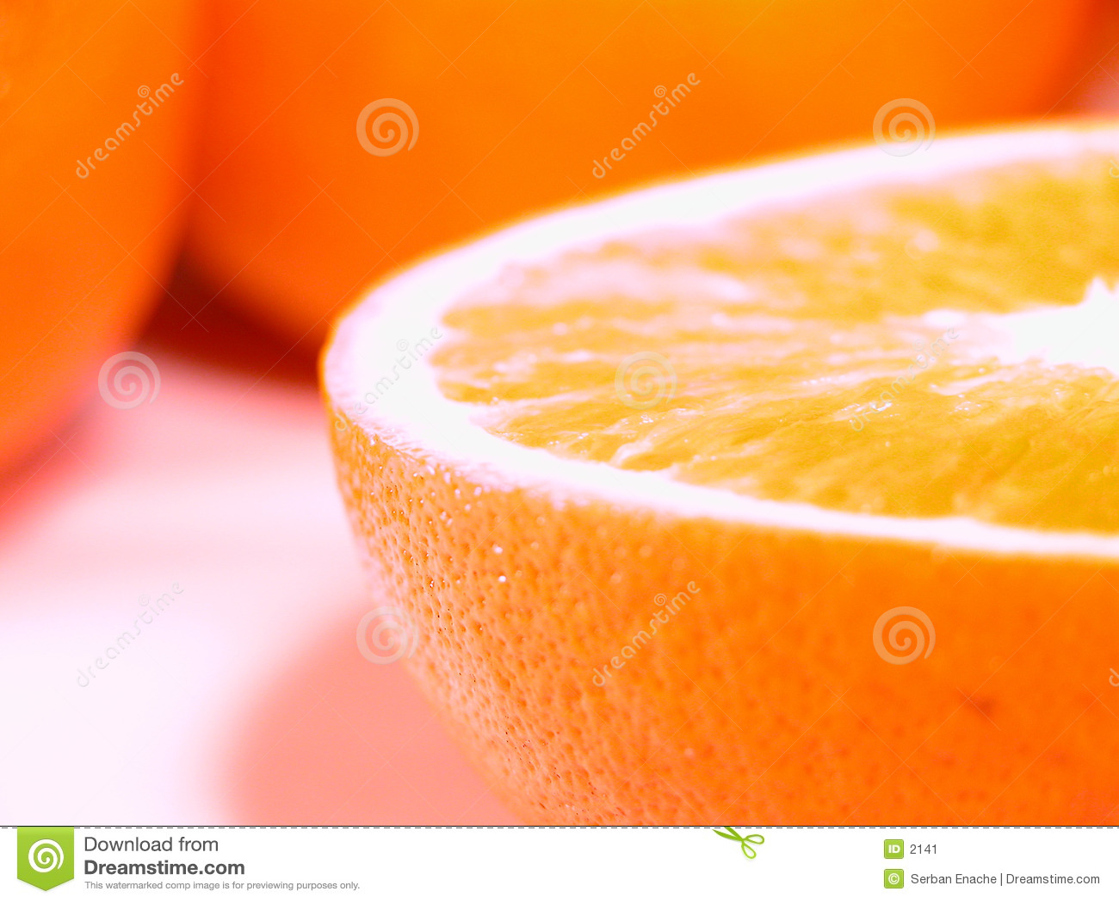 Oranges fraîches