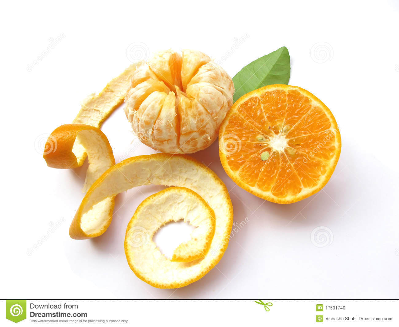 Oranges-Isolated