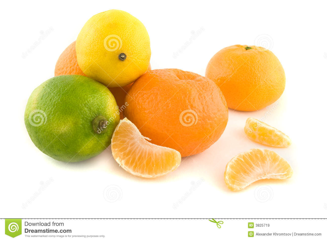 Oranges, Lime and Lemons