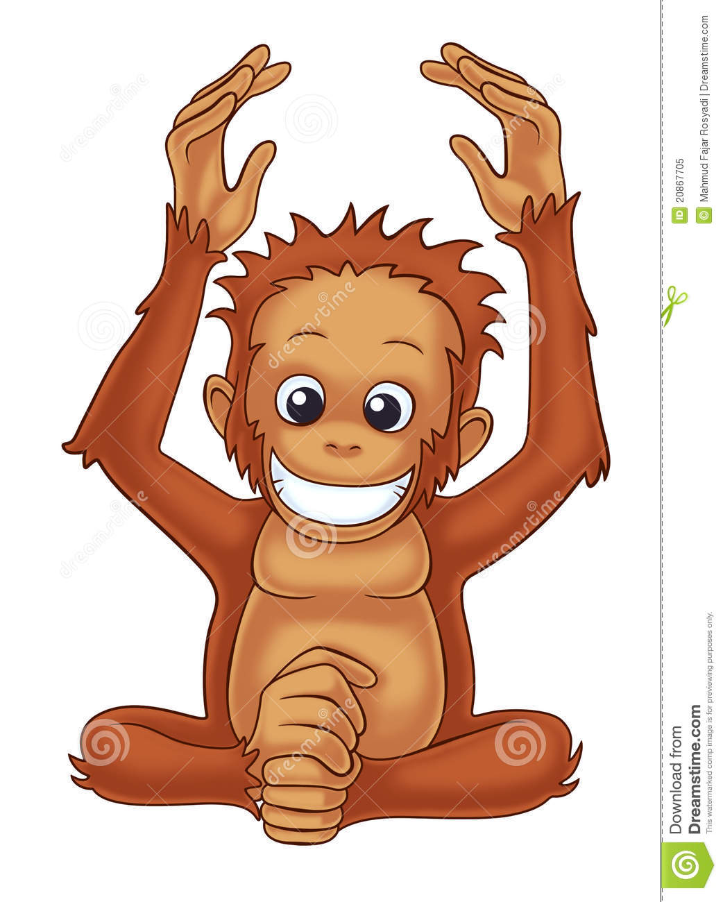 Orangutan Royalty Free Stock Photo - Image: 20867705
