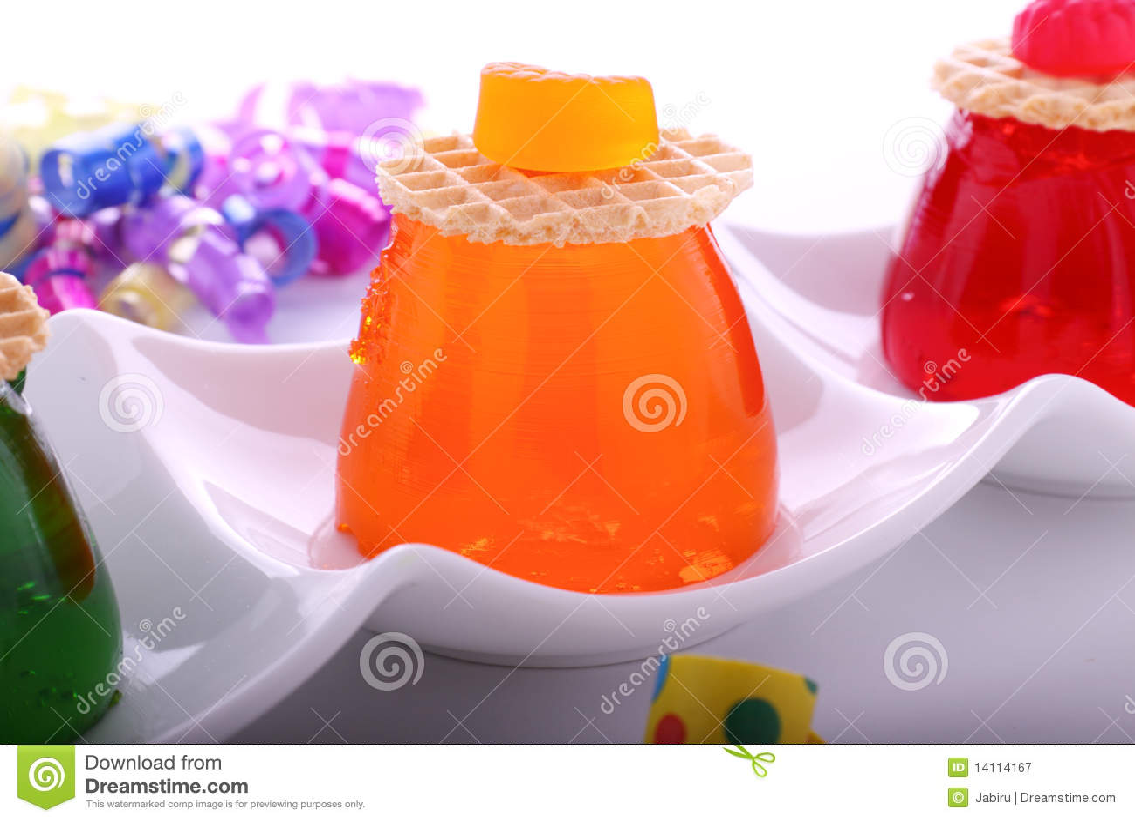Oranje Gelei met Suikergoed