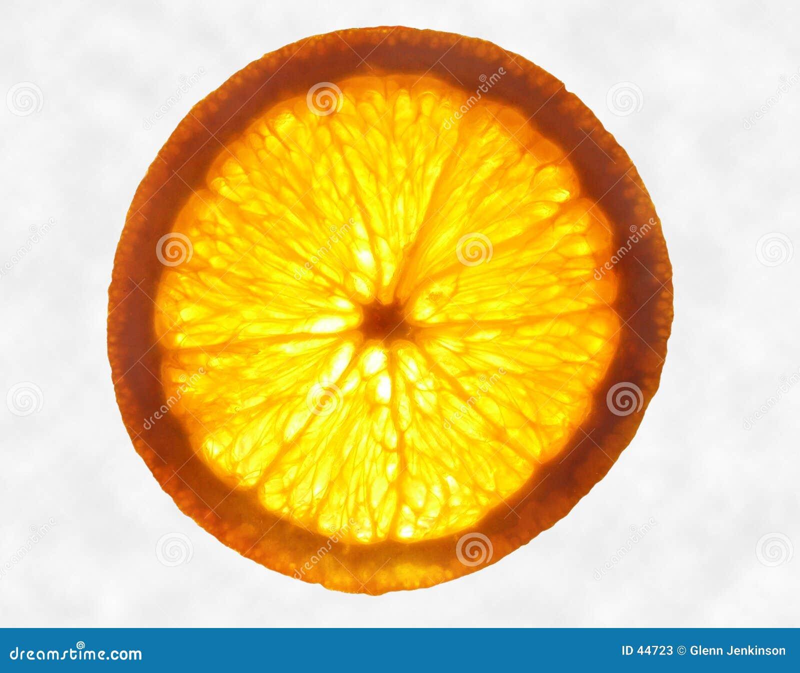 Download Oranje Gloed stock afbeelding. Afbeelding bestaande uit kleur - 44723