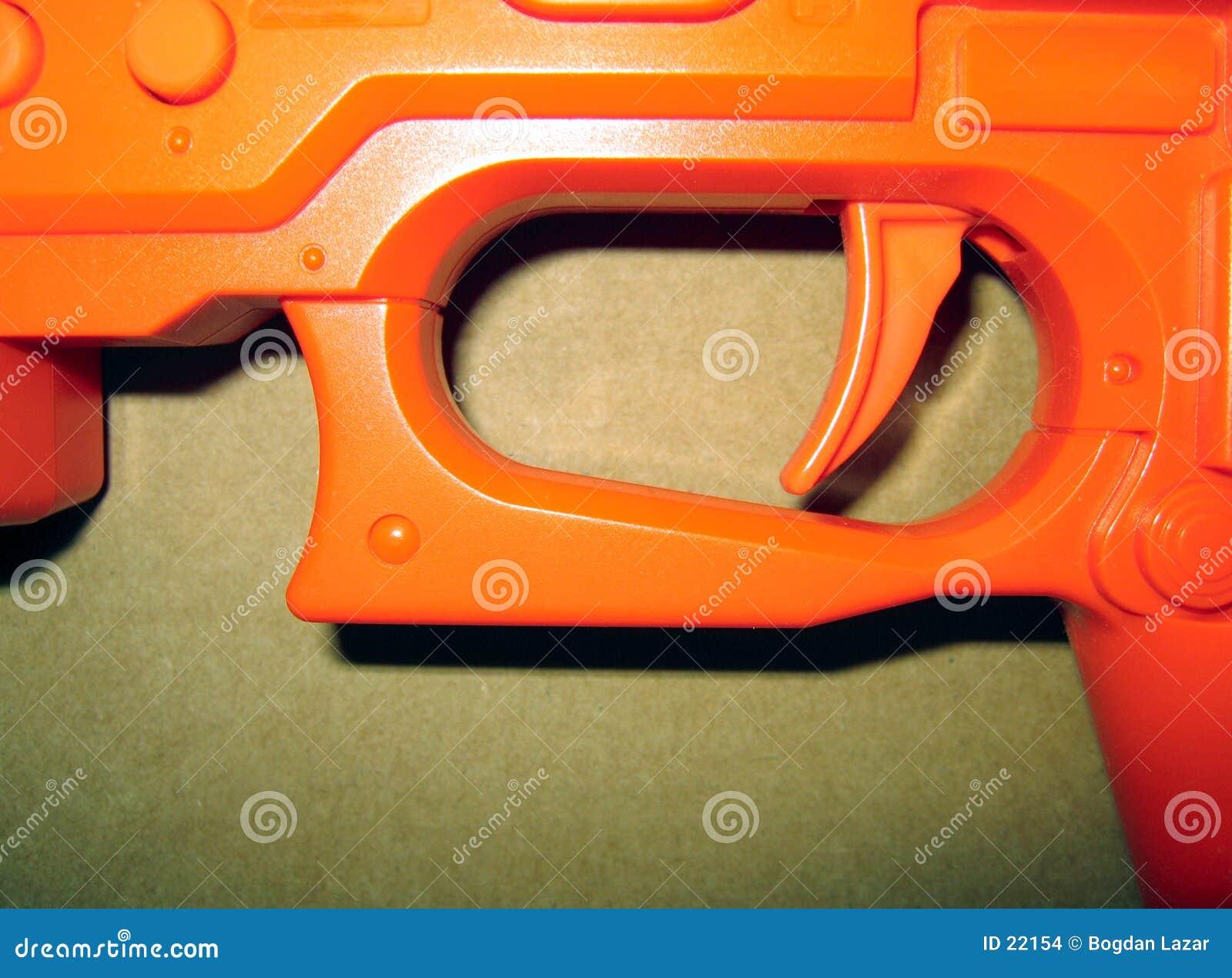 Oranje trekker