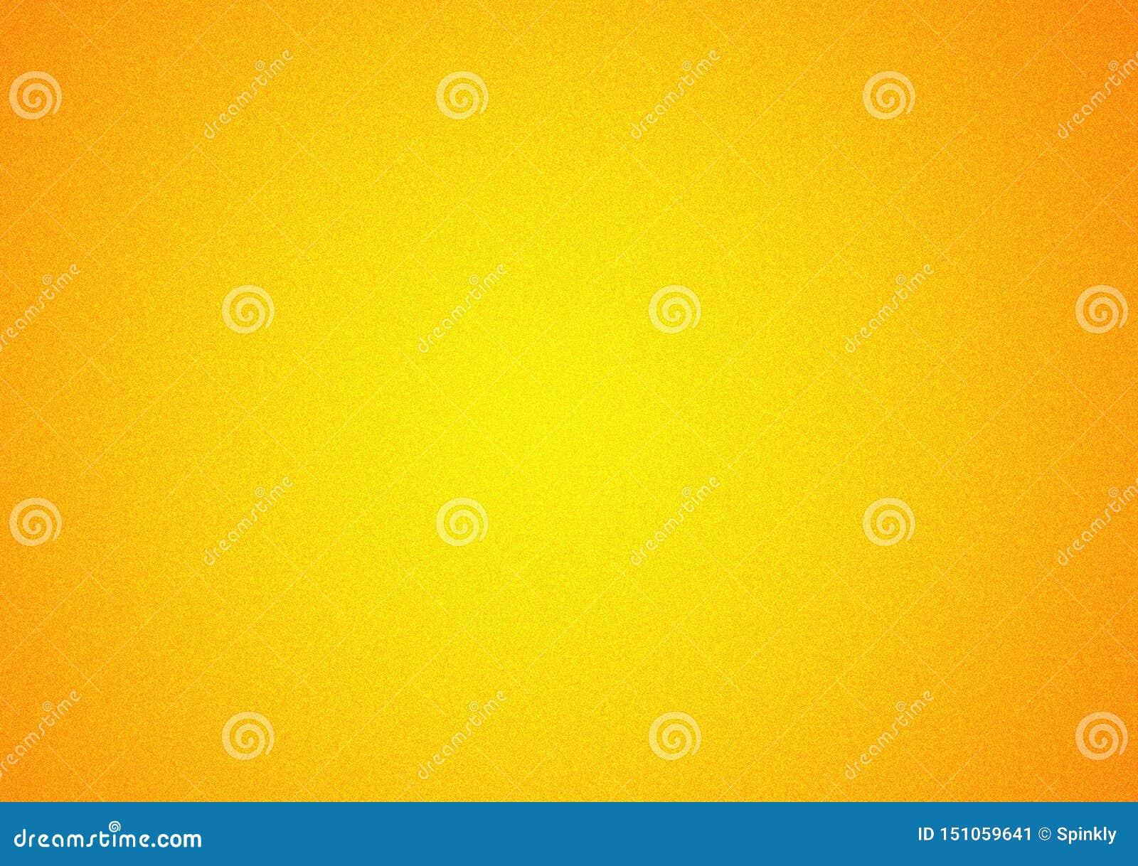 Oranjegeel duidelijk vignet achtergrondgradiëntbehang