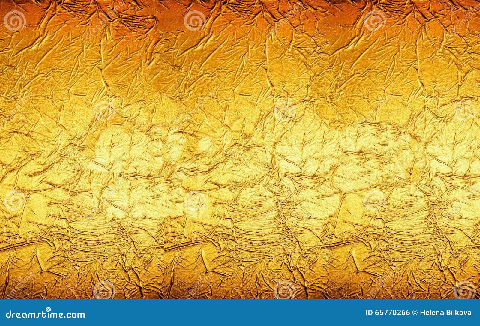 Oranjegele Gouden Textuur Als achtergrond