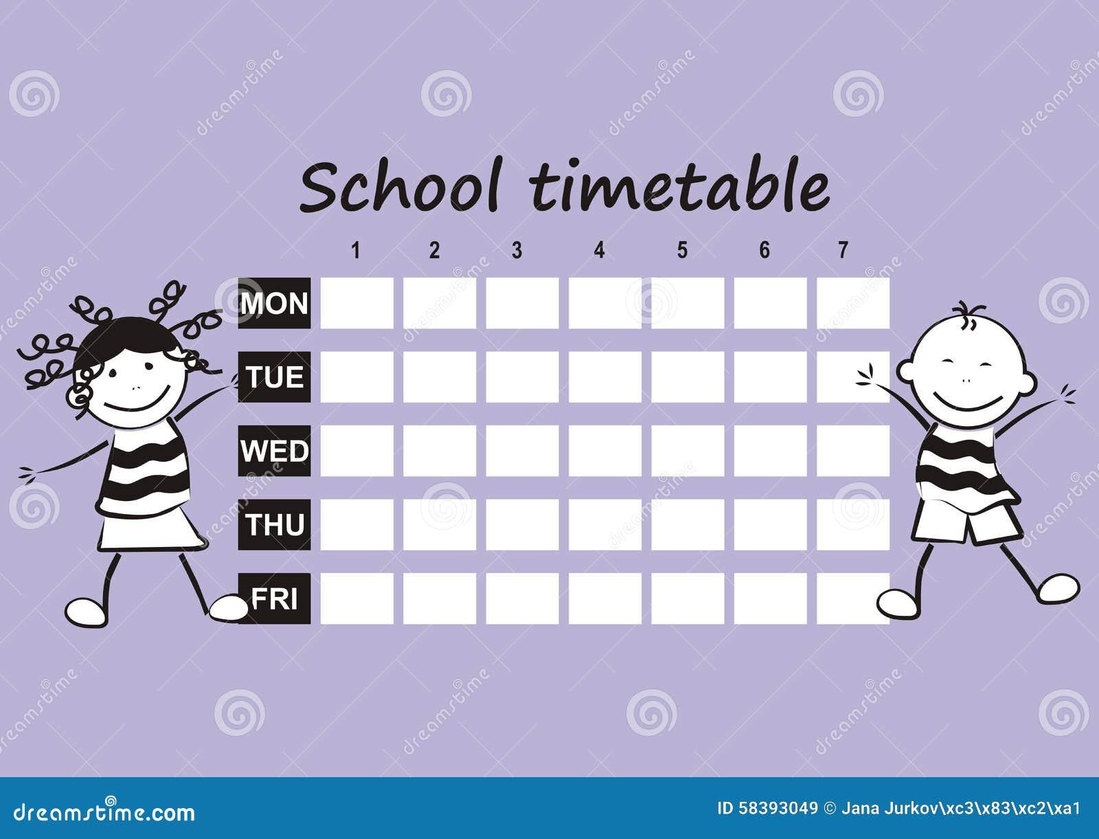 Orario della scuola