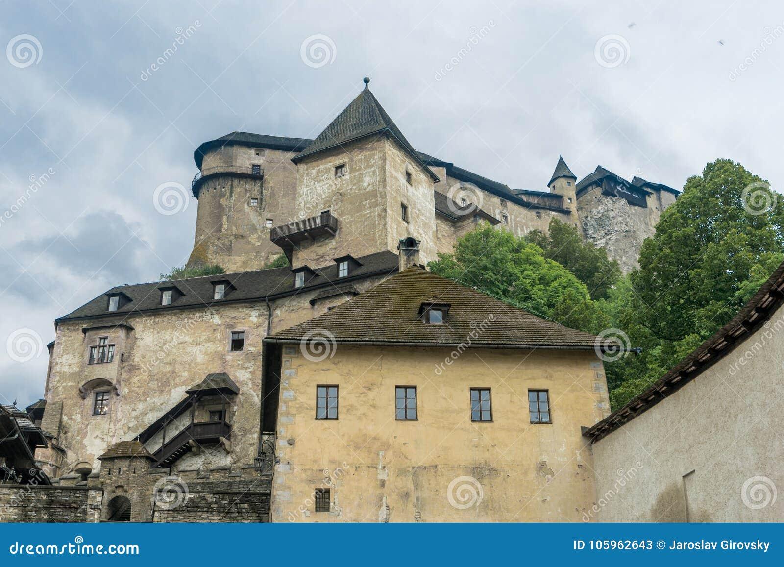 Orava castle whole