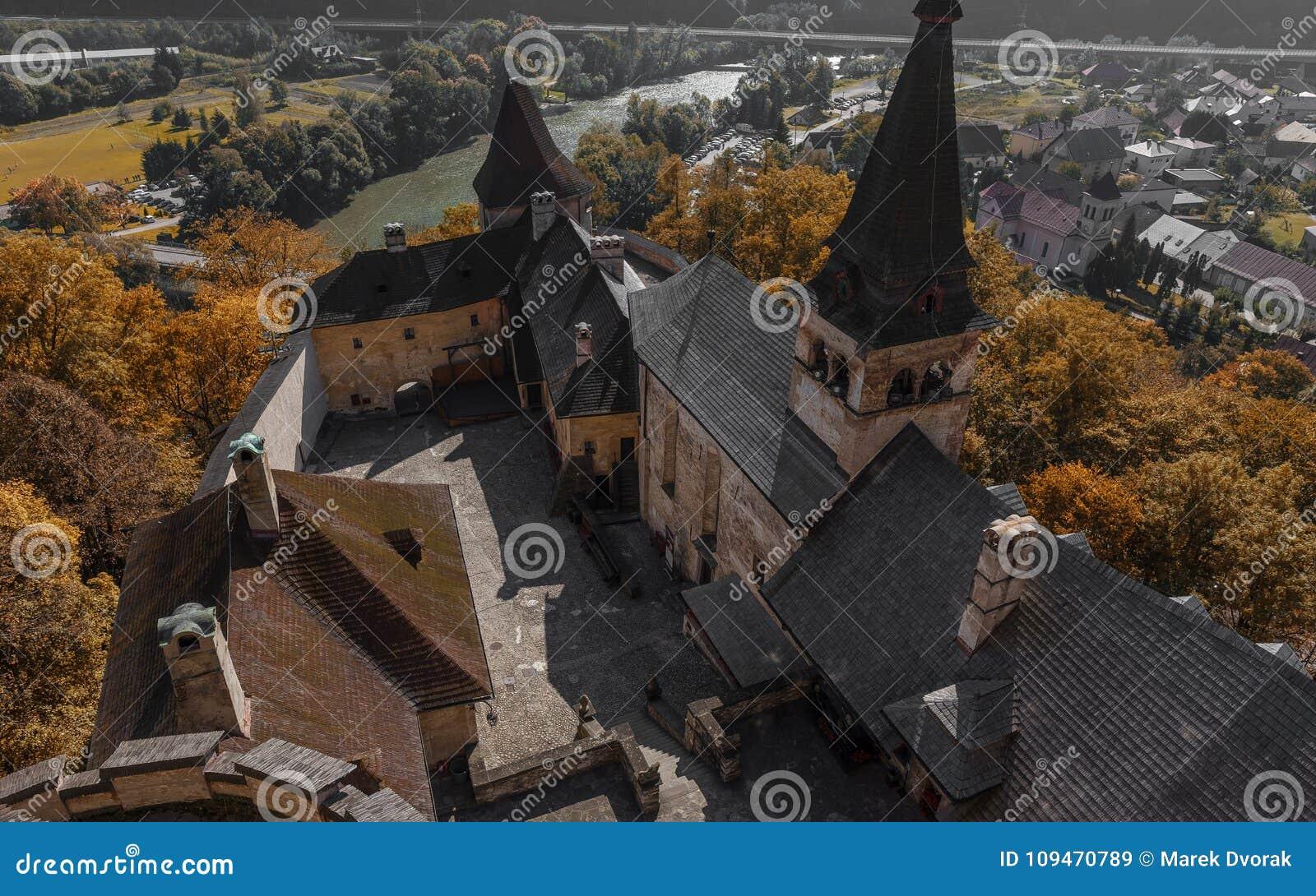 Orava slott i Slovakien