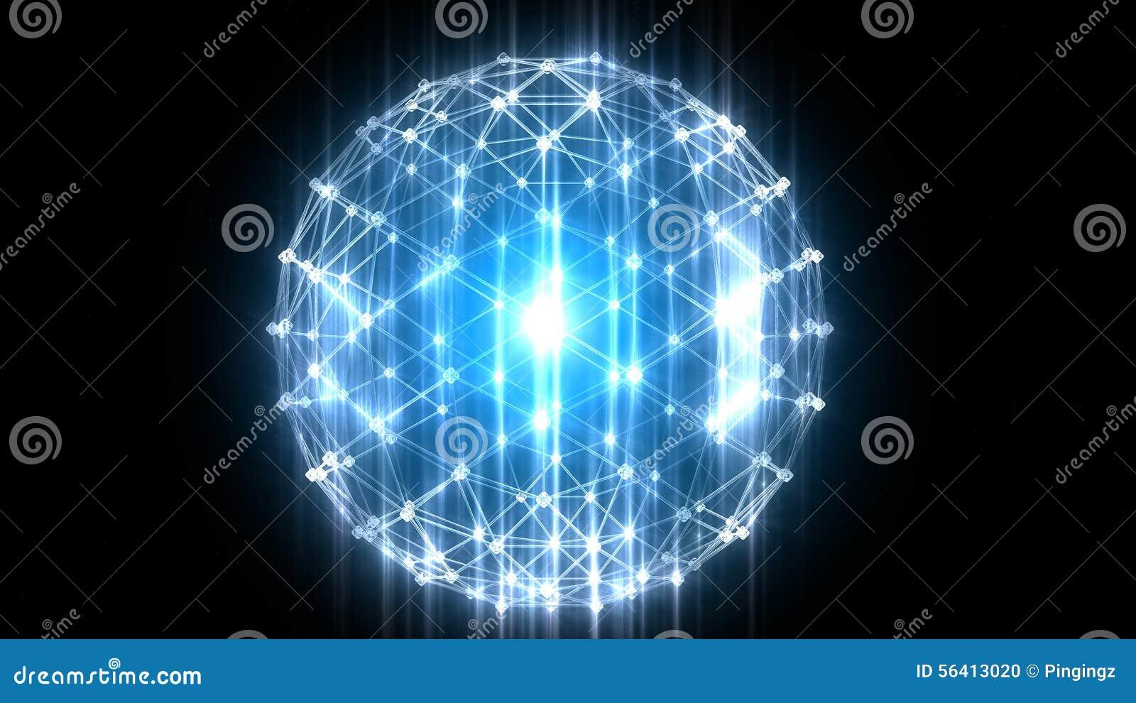 Orb effect glow flare