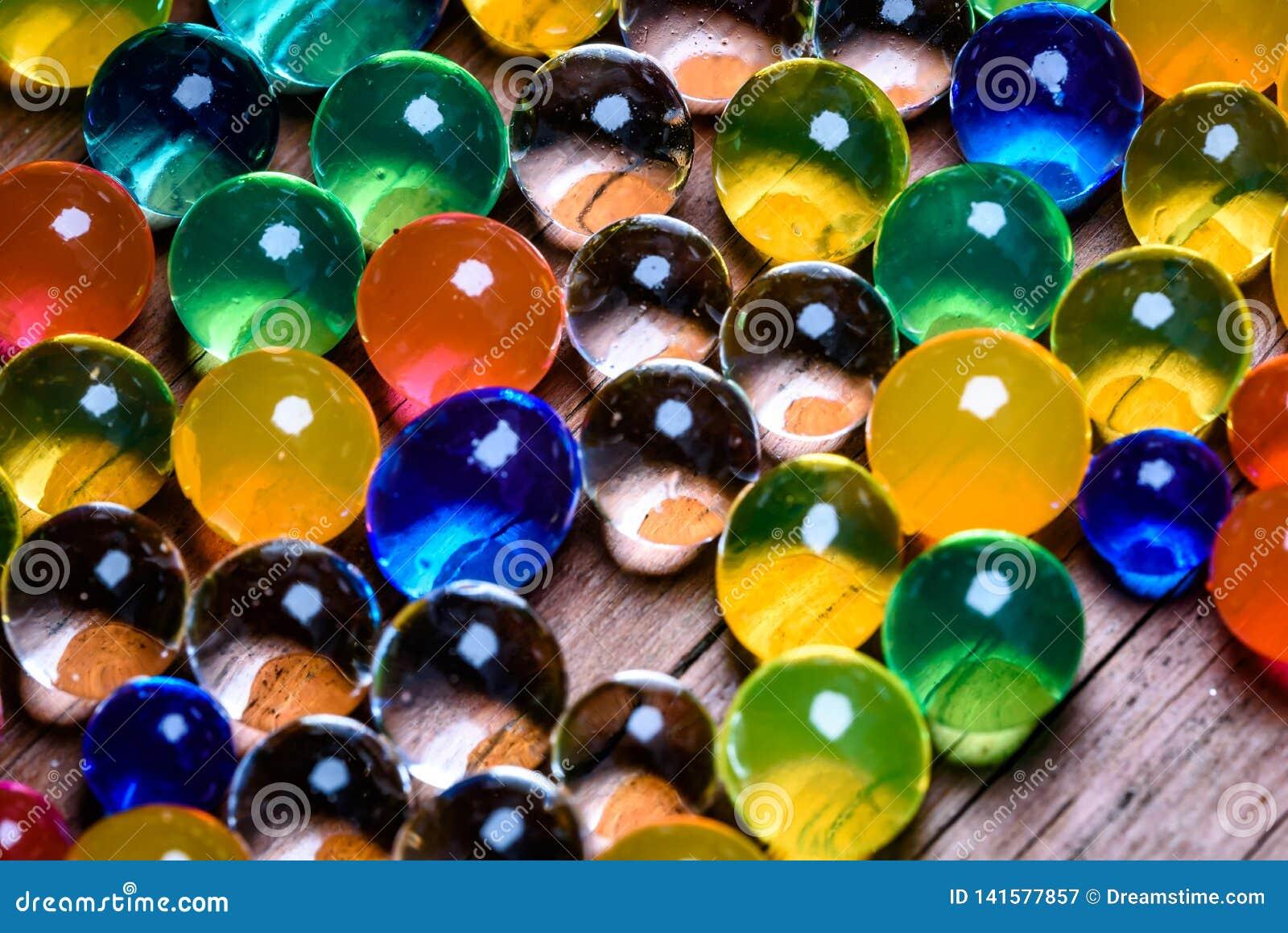 Orbeez colorido absorvente 3 do ponto alto