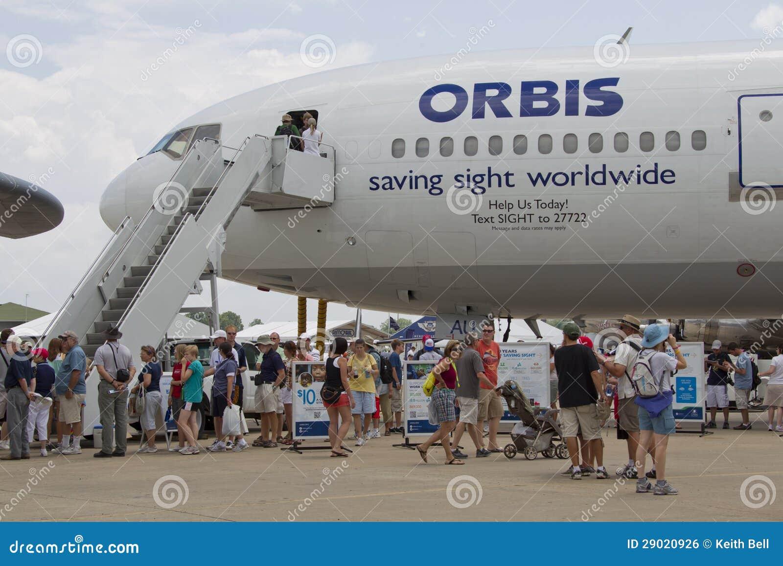 Orbis Flugwesen-Augen-Krankenhaus-Flugzeug