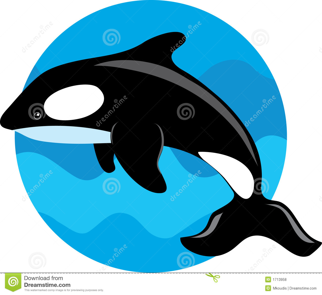 Orca Whale Royalty Free Stock Photos - Image: 1713958