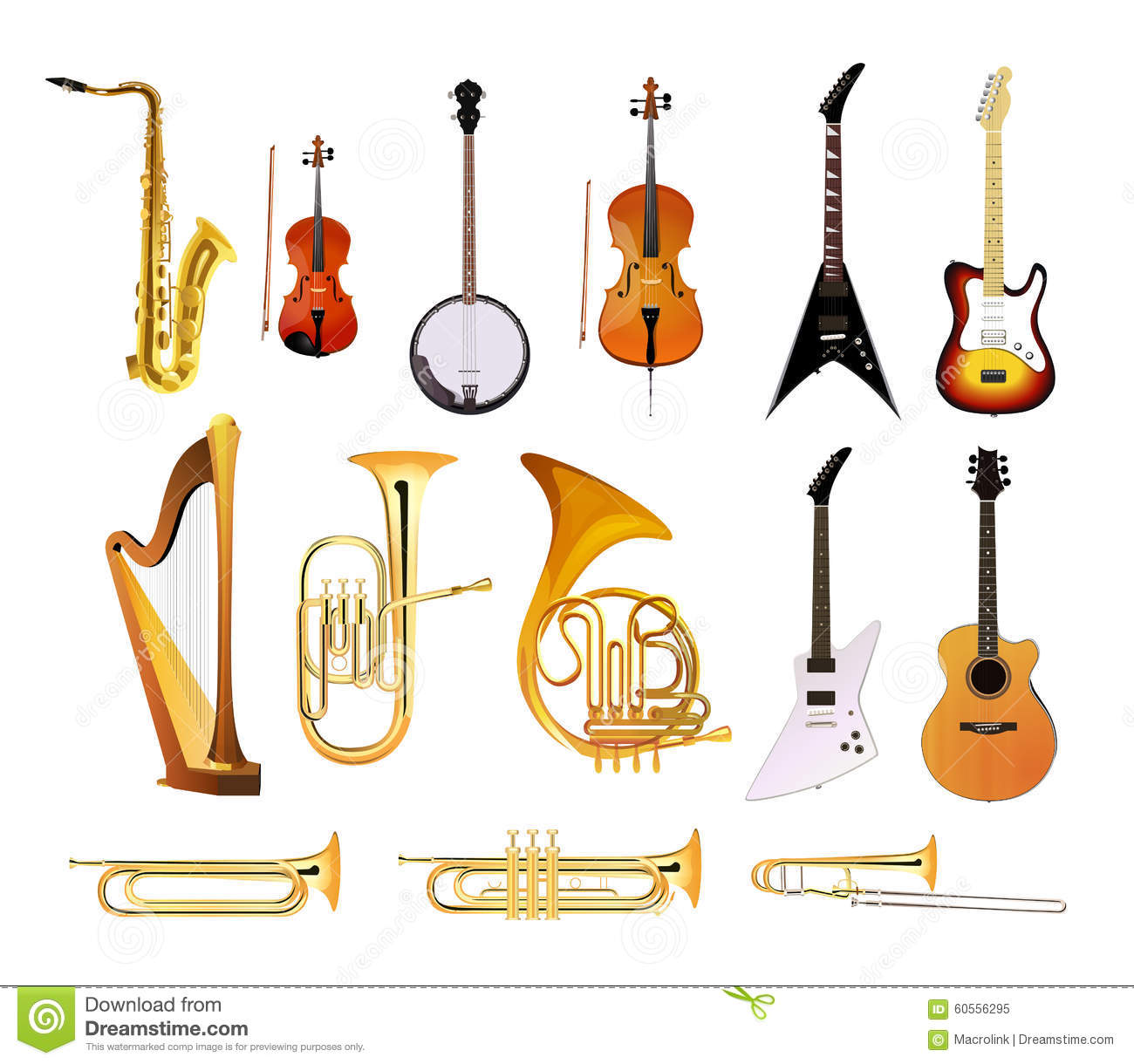 ... background,... Jazz Instruments Drawing