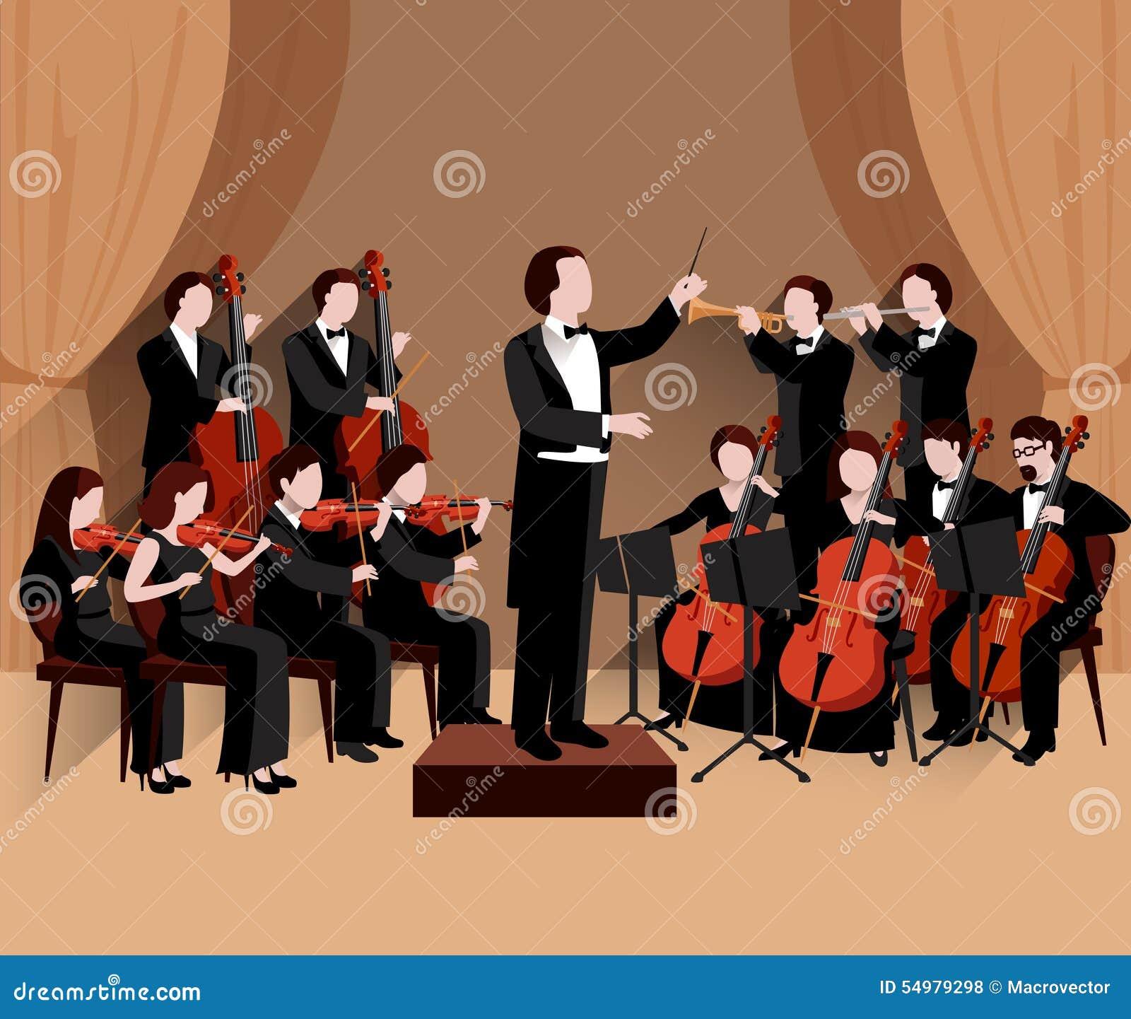 Orchestra sinfonica piana