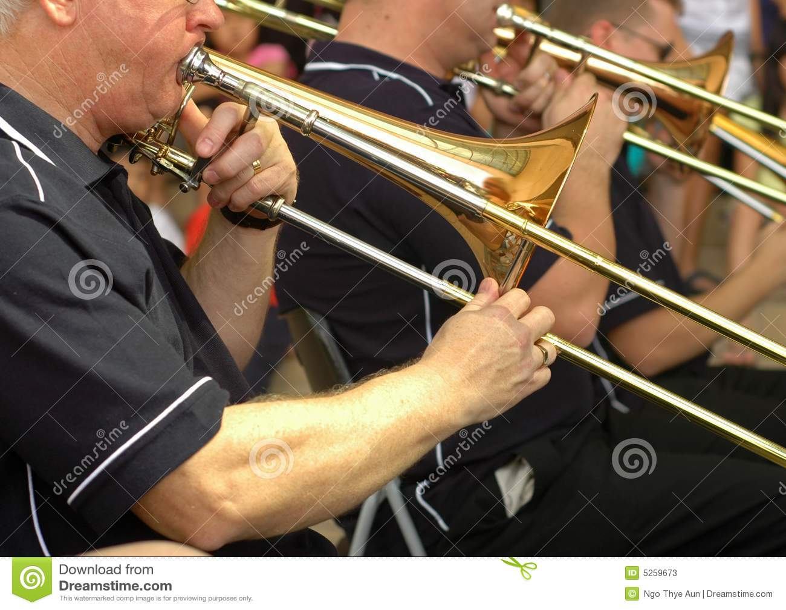 Orchestre de trompette de rue