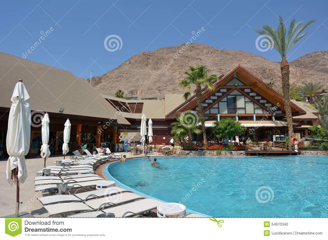 orchid hotel and resort in eilat israel editorial image - image